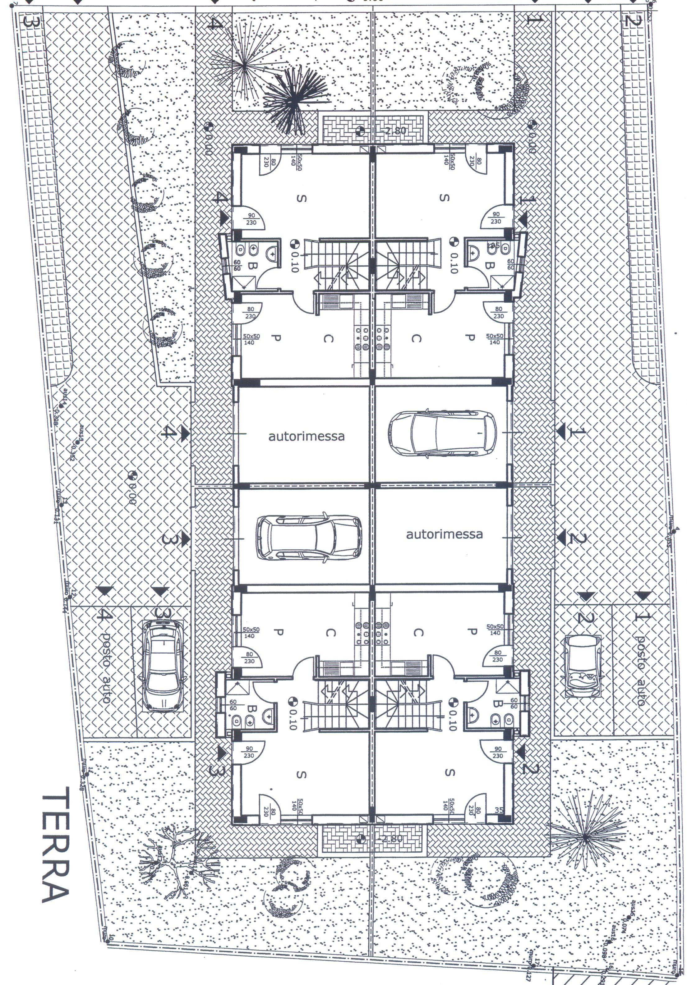 Planimetria 2/4 per rif. F/0116