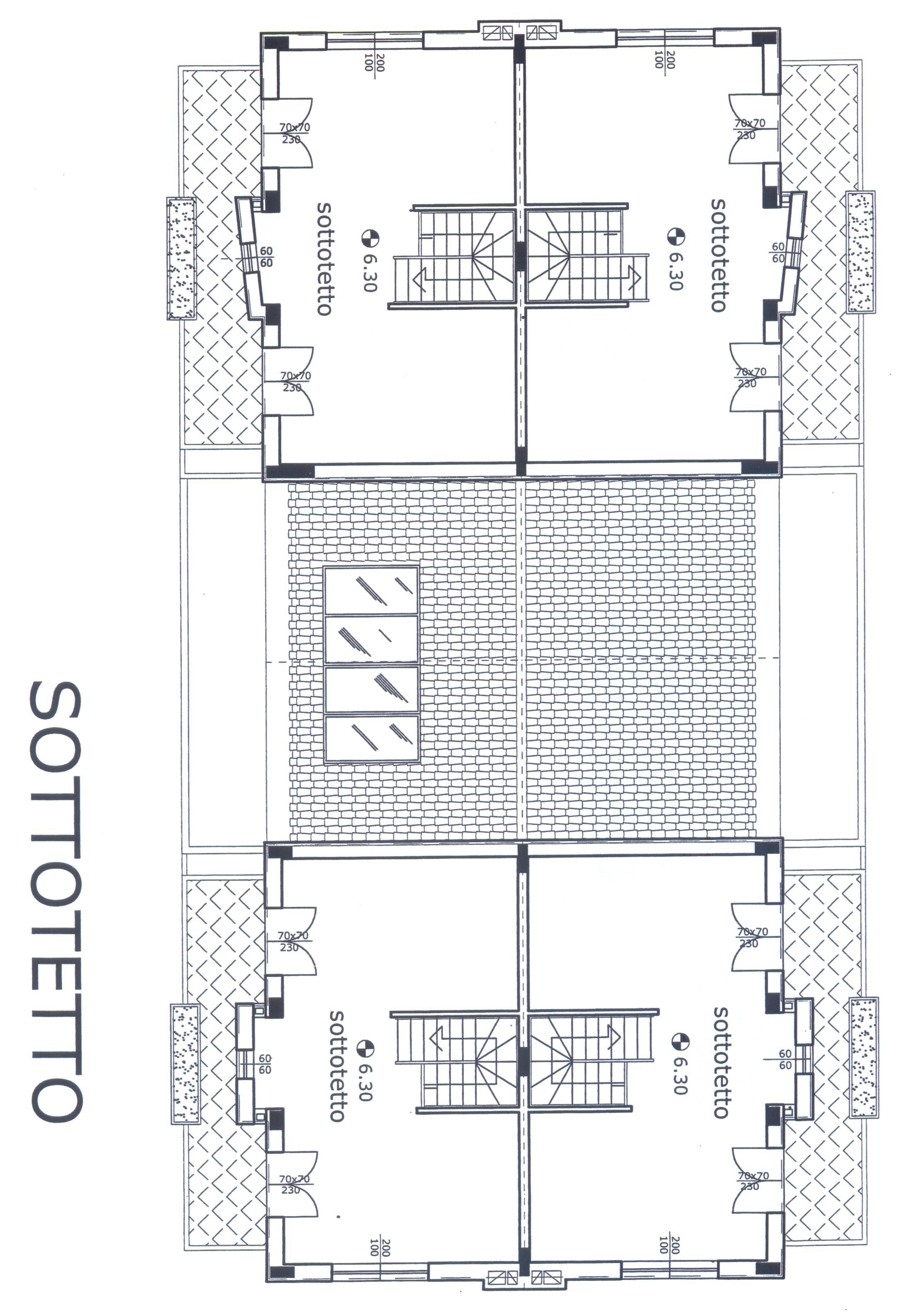 Planimetria 4/4 per rif. F/0116