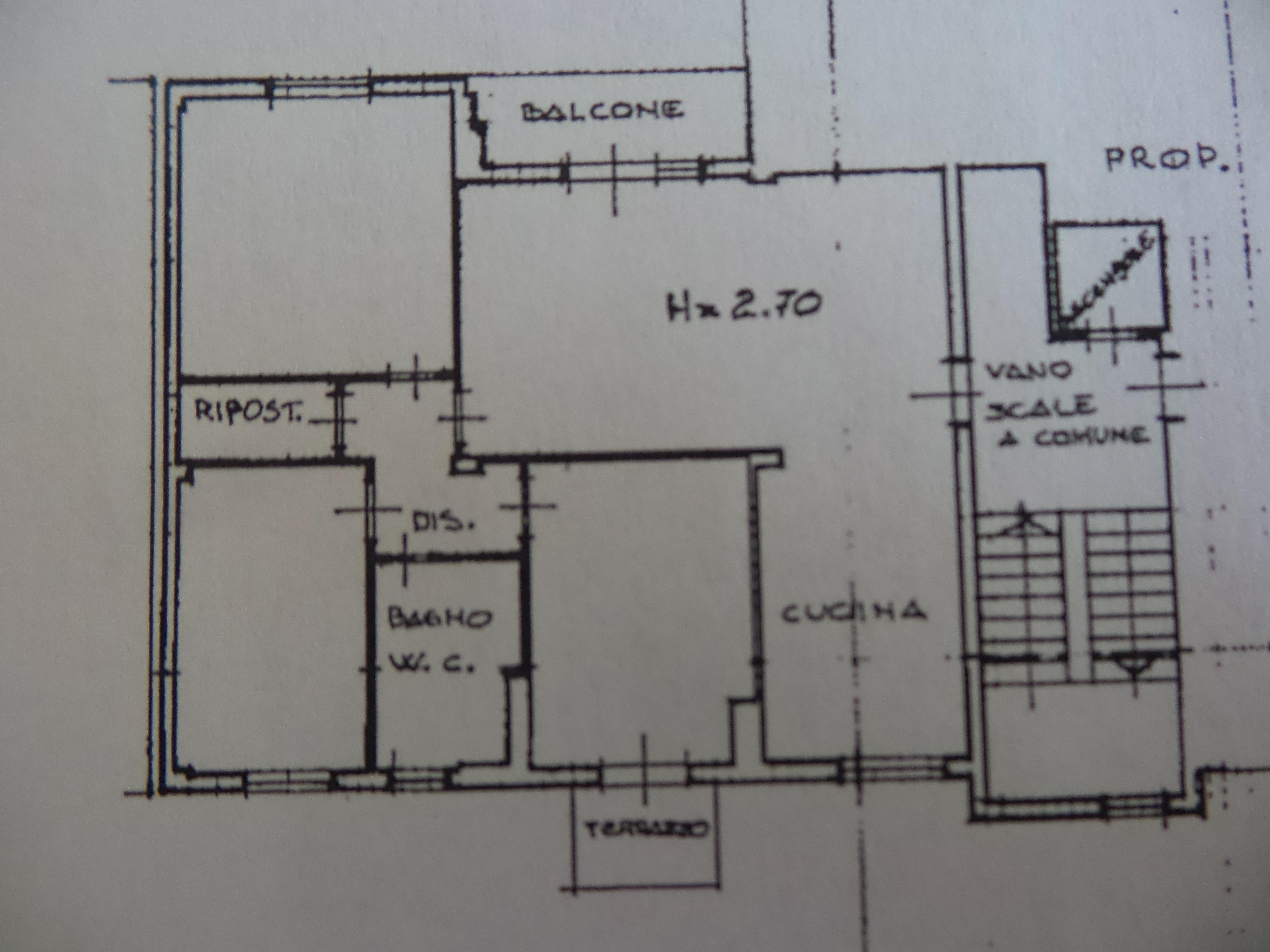 Planimetria 1/1 per rif. M/0087