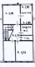 Planimetria 4/4 per rif. B/0070