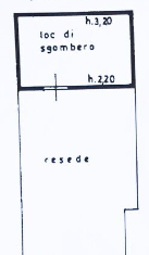 Planimetria 3/4 per rif. B/0070