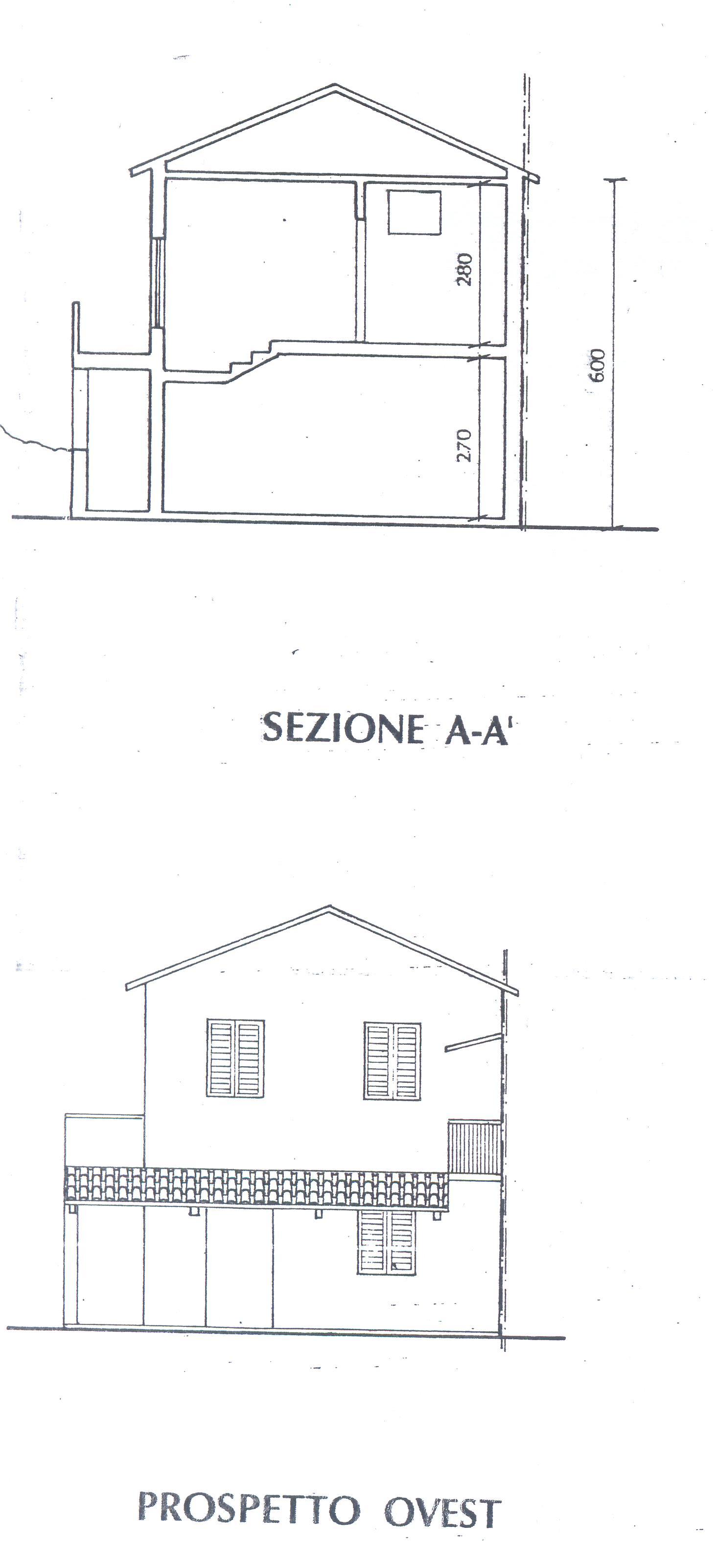 Planimetria 2/2 per rif. F/0122