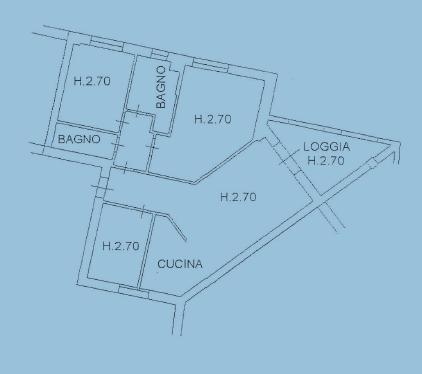 Planimetria 1/1 per rif. F/0124