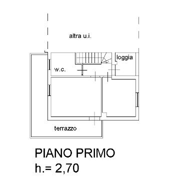 Planimetria 2/3 per rif. B/0075