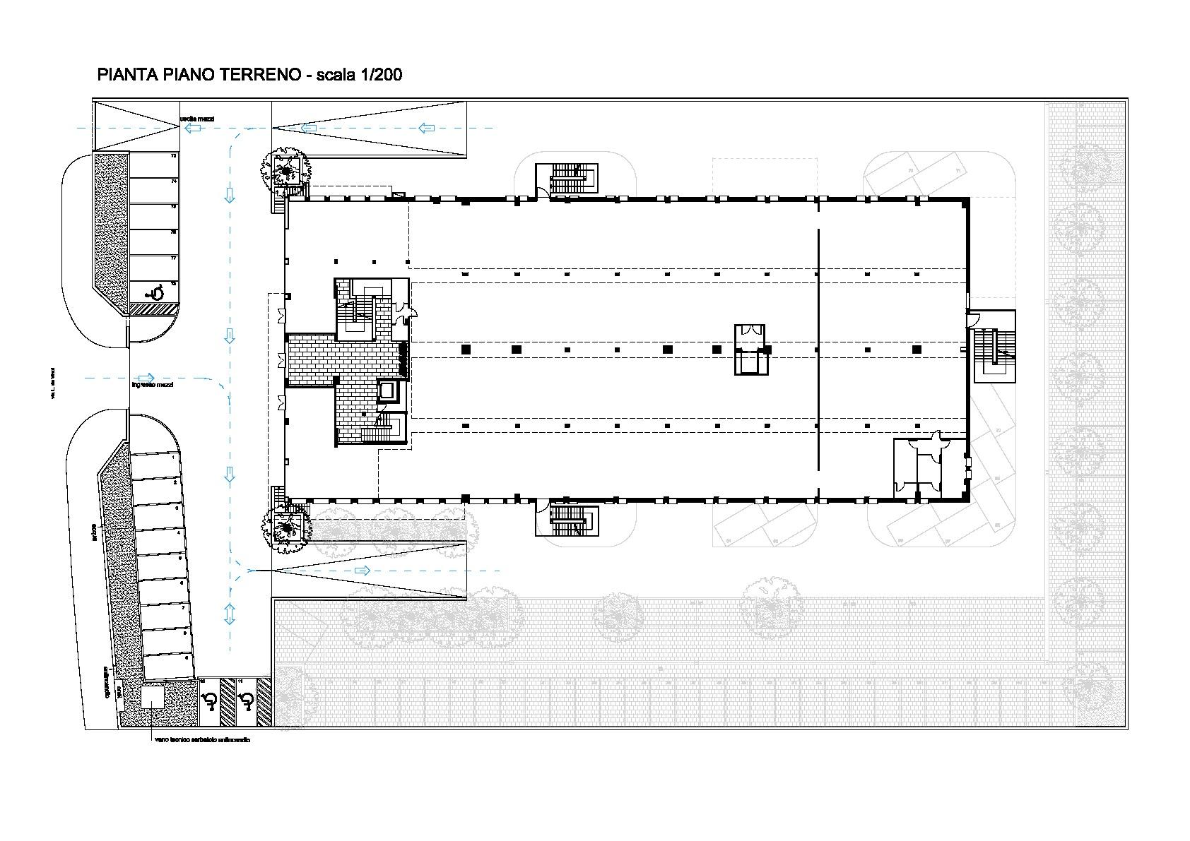 Planimetria 1/2 per rif. B/0078
