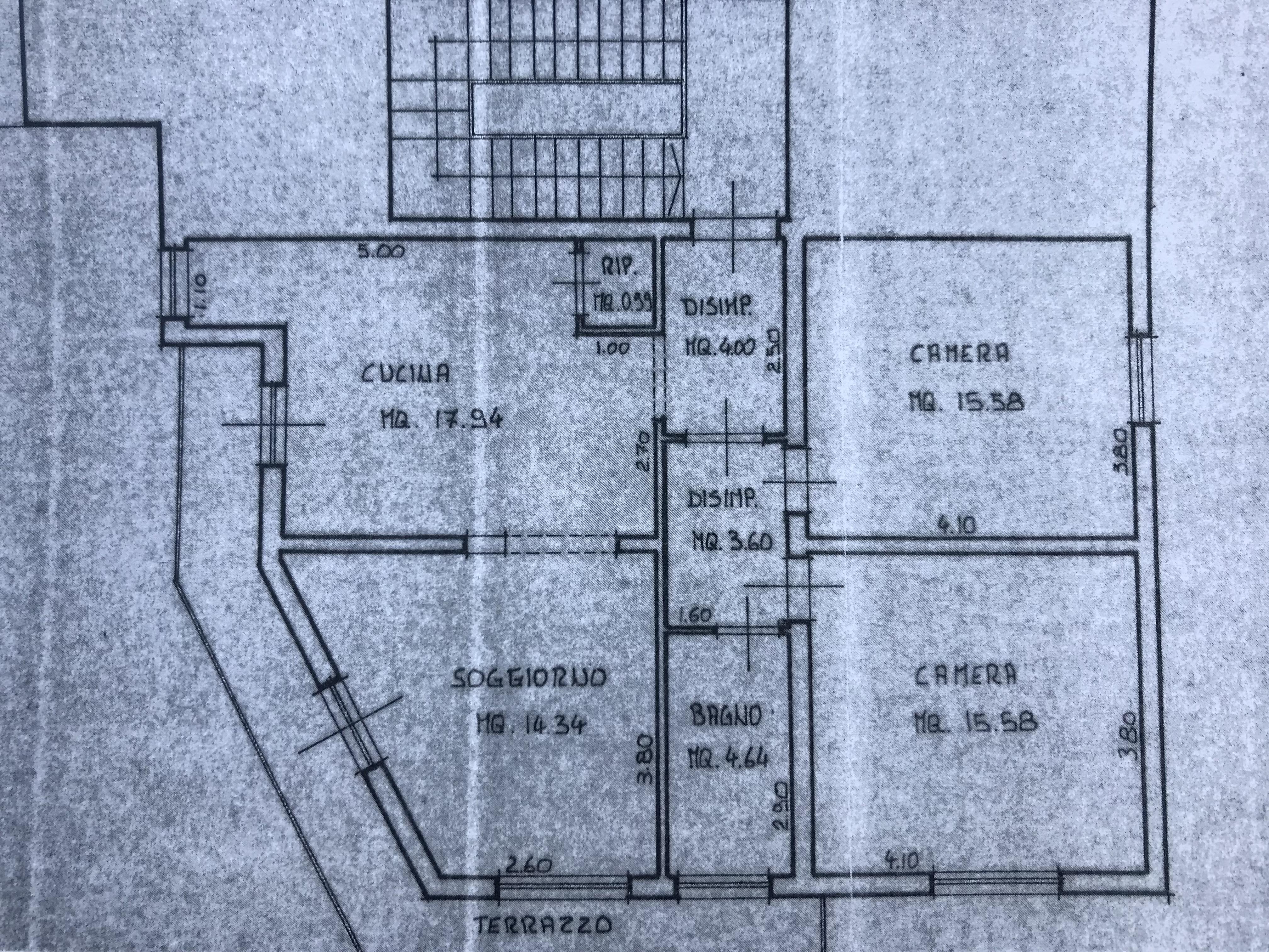 Planimetria 1/1 per rif. M/0107