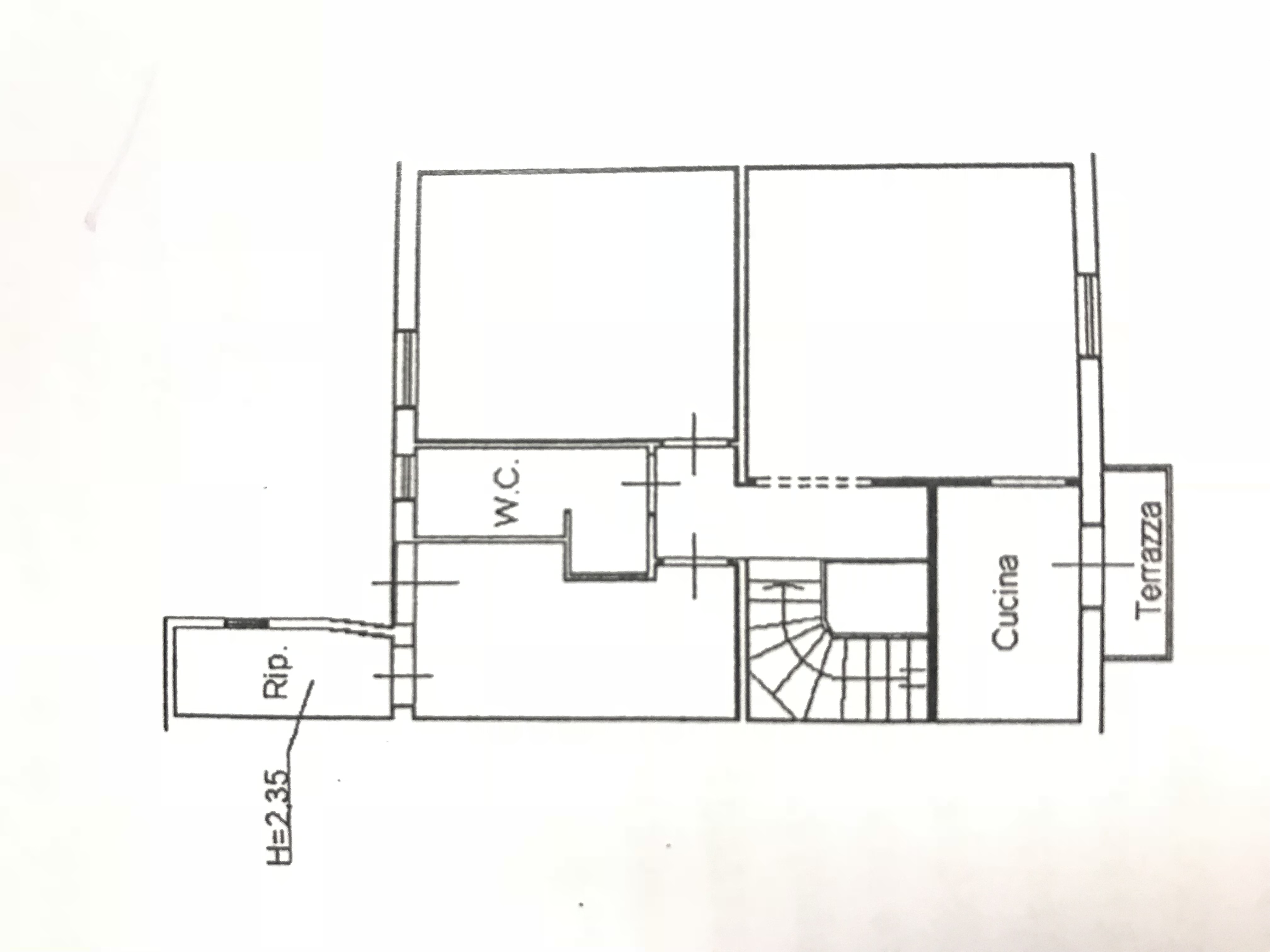 Planimetria 1/1 per rif. M/0108