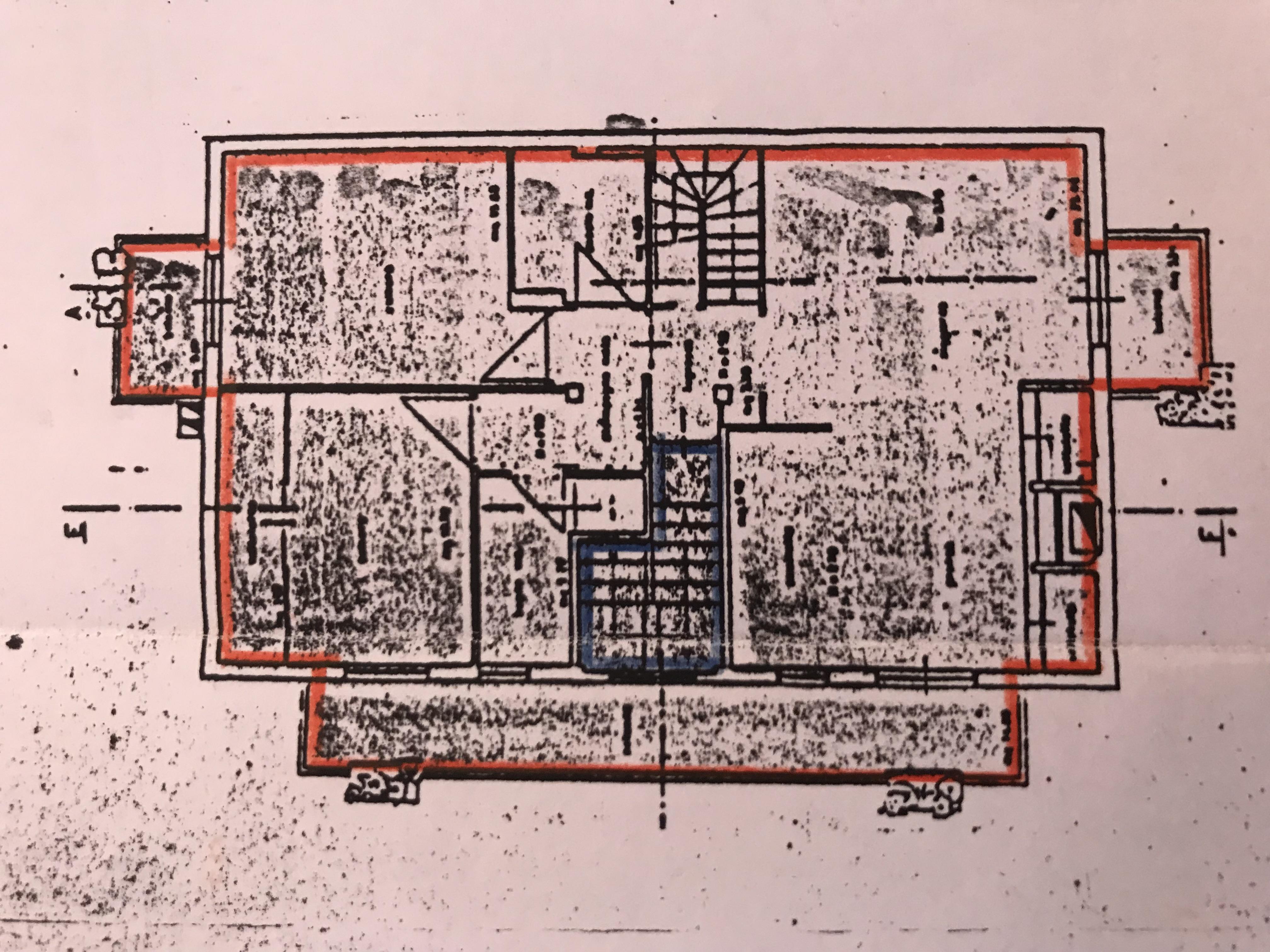 Planimetria 1/1 per rif. M/0109