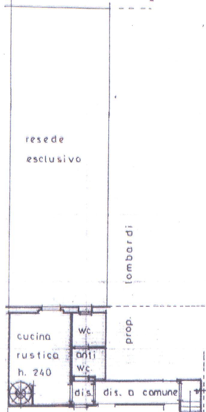 Planimetria 2/3 per rif. P/0058