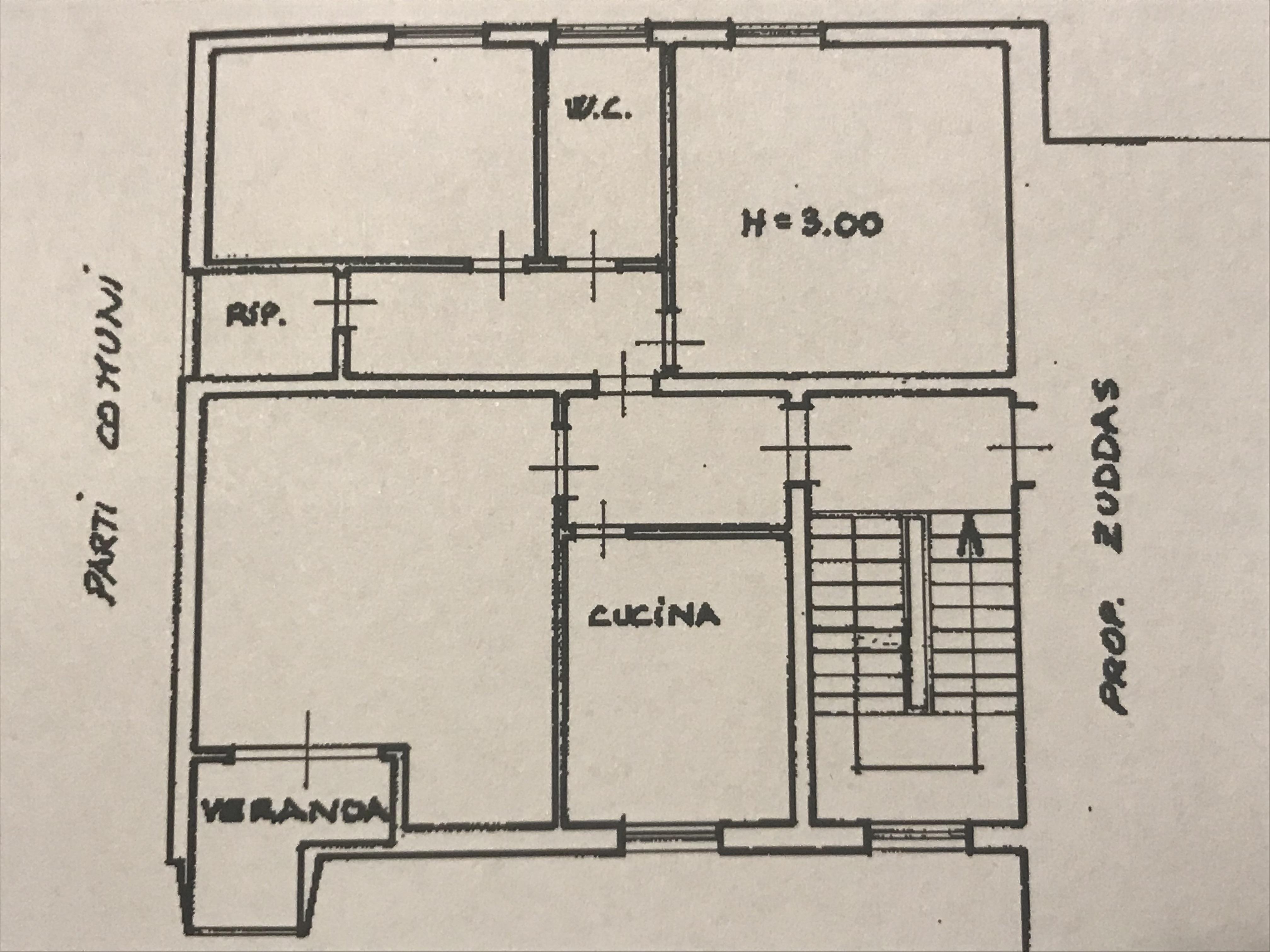 Planimetria 1/1 per rif. M/0111