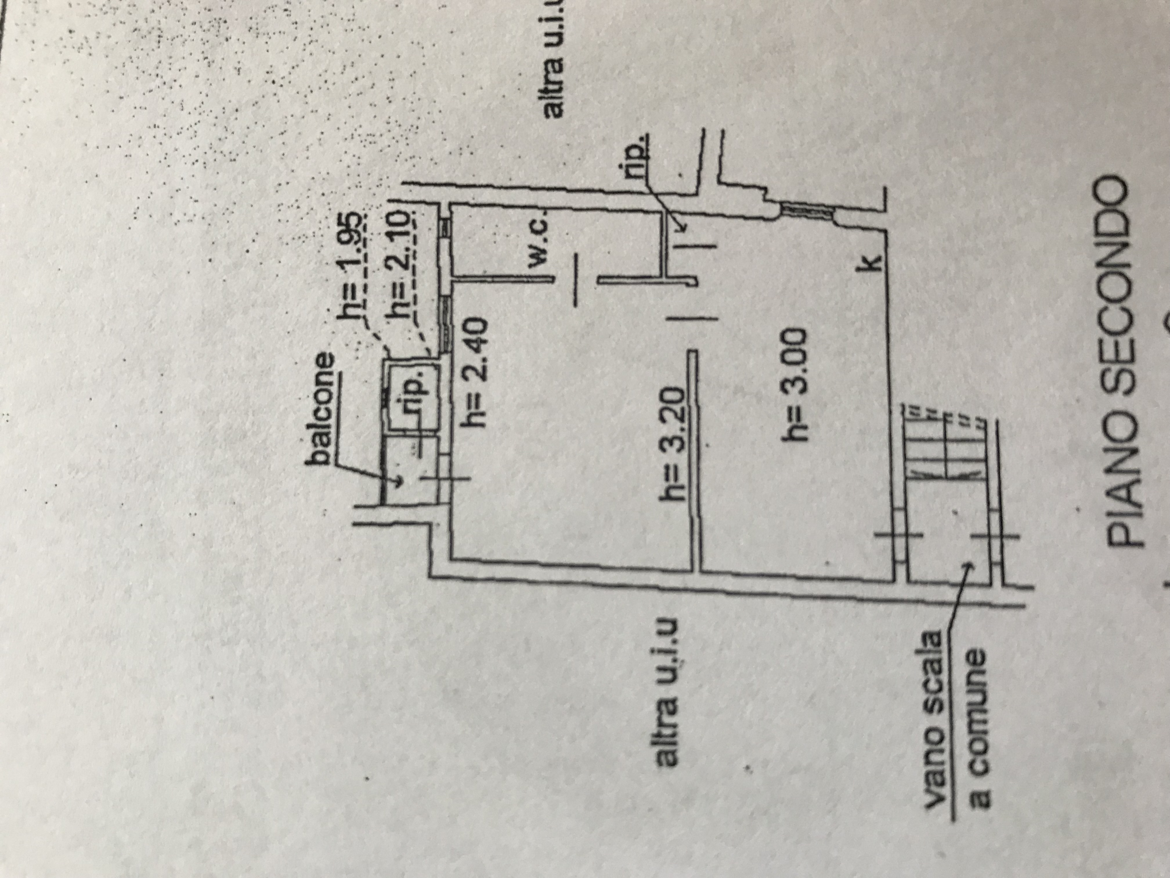Planimetria 1/1 per rif. B/0093