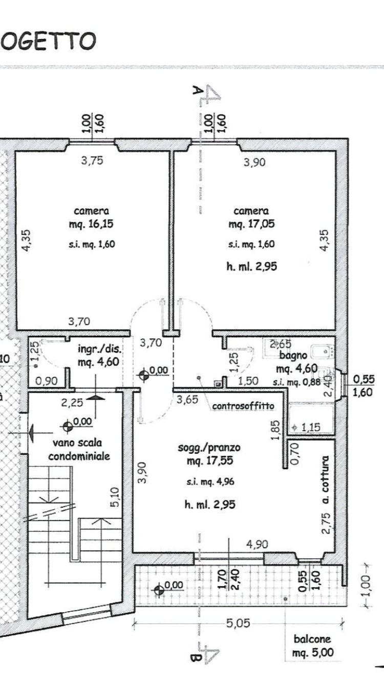 Planimetria 1/1 per rif. M/0117