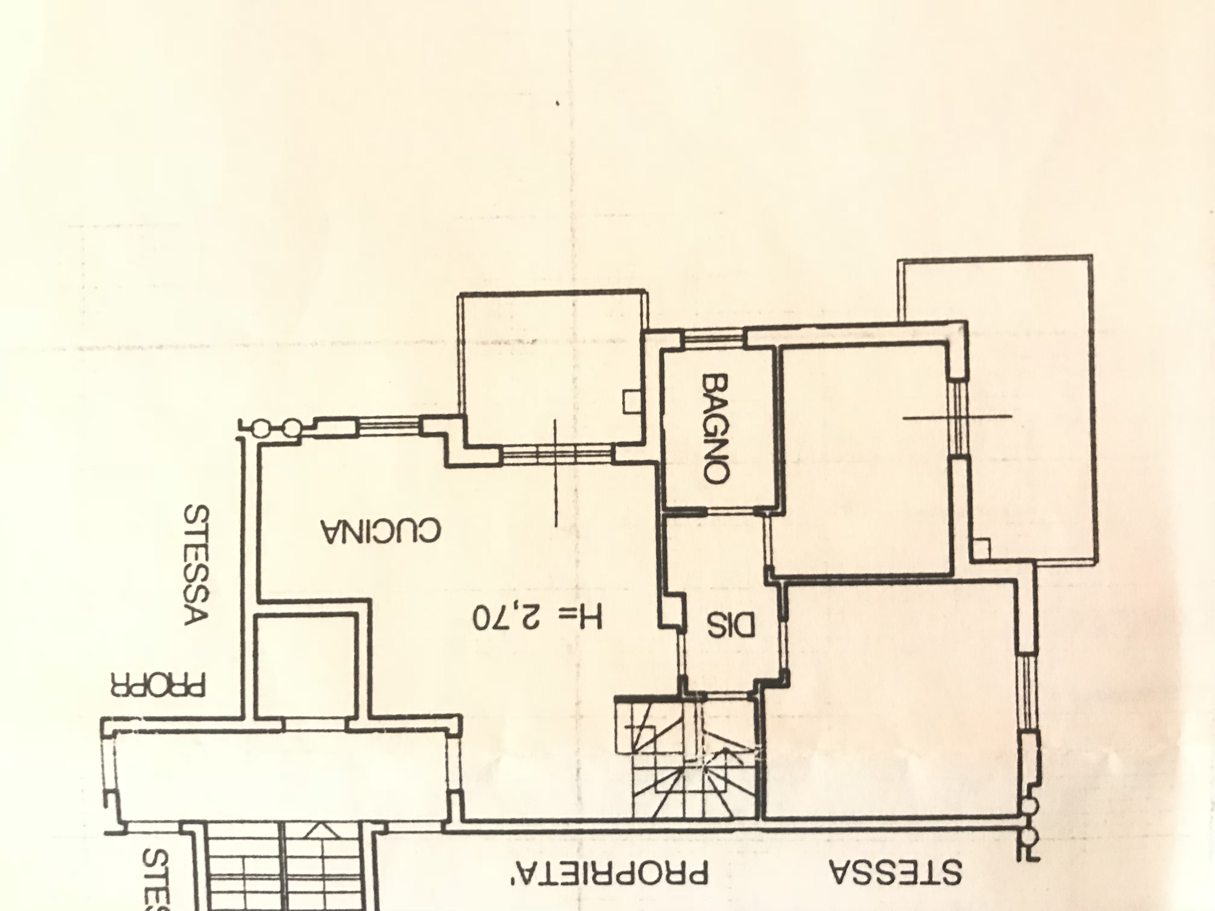 Planimetria 1/1 per rif. M/0121