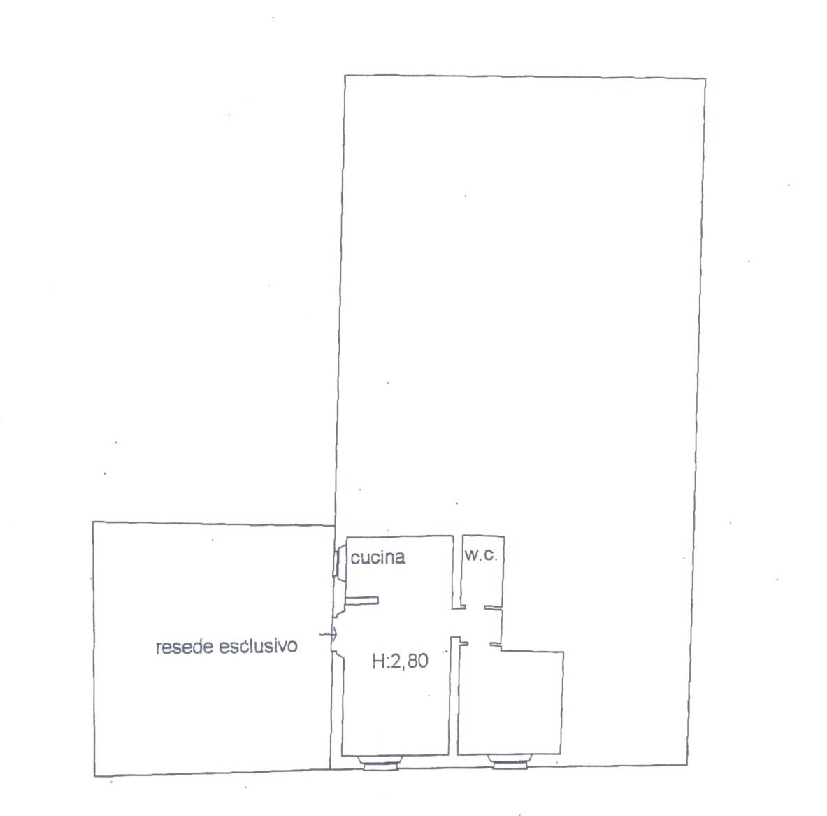 Planimetria 1/1 per rif. F/0140