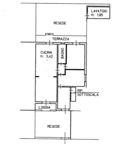 Planimetria 1/1 per rif. B/0100