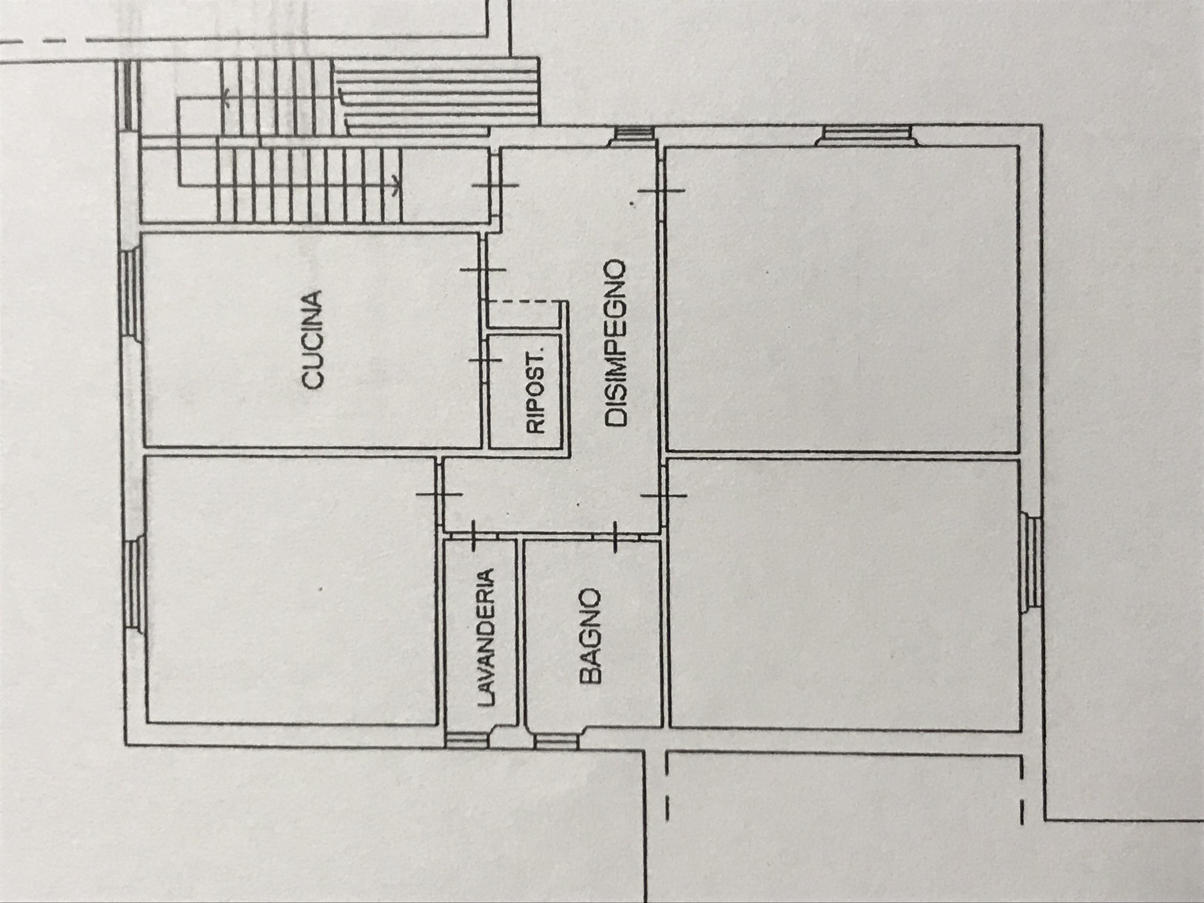 Planimetria 1/1 per rif. M/0127