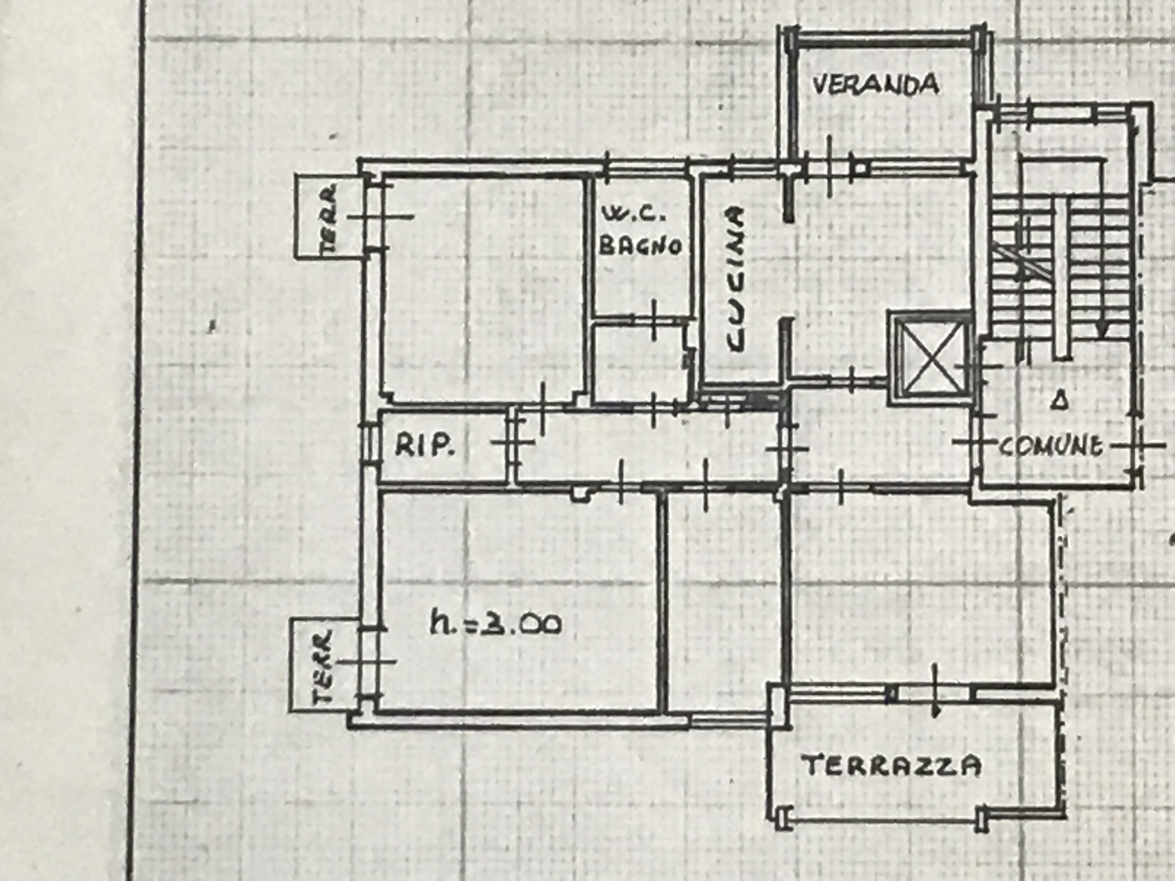 Planimetria 1/1 per rif. M/0128