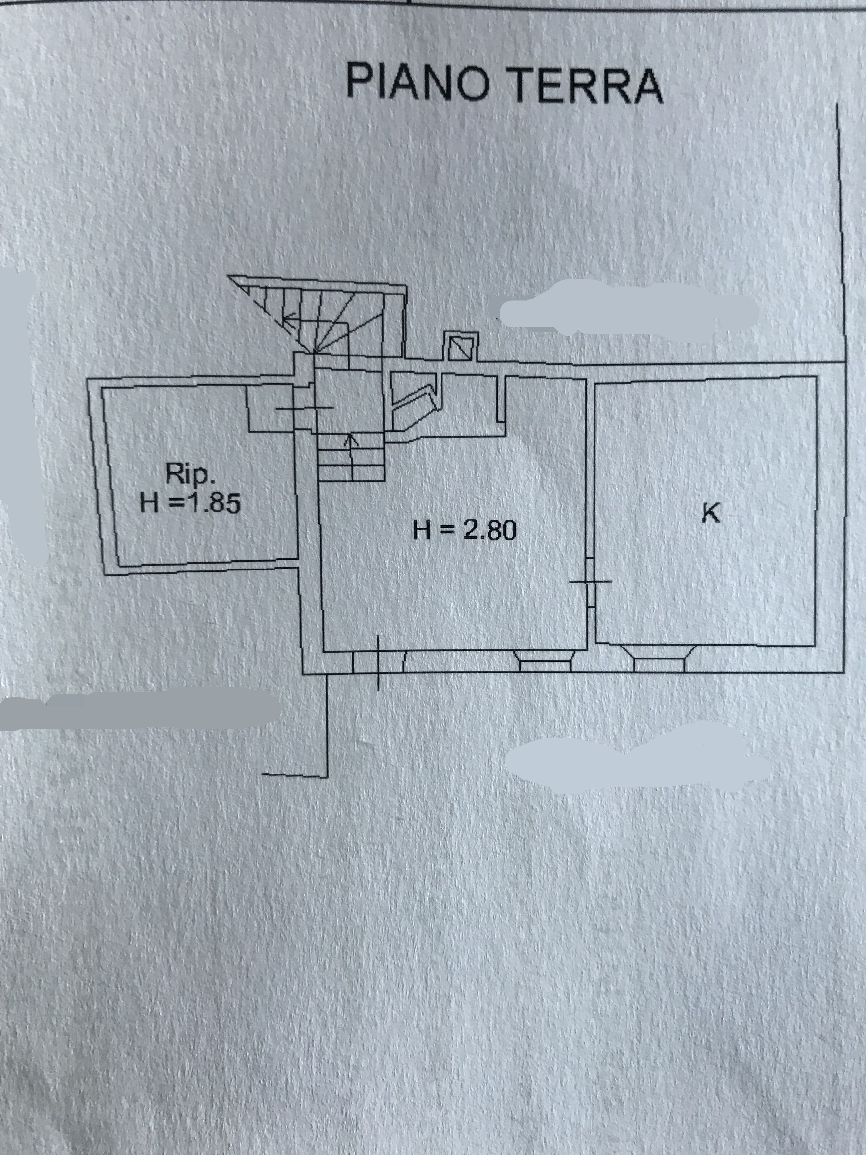 Planimetria 1/1 per rif. M/0139
