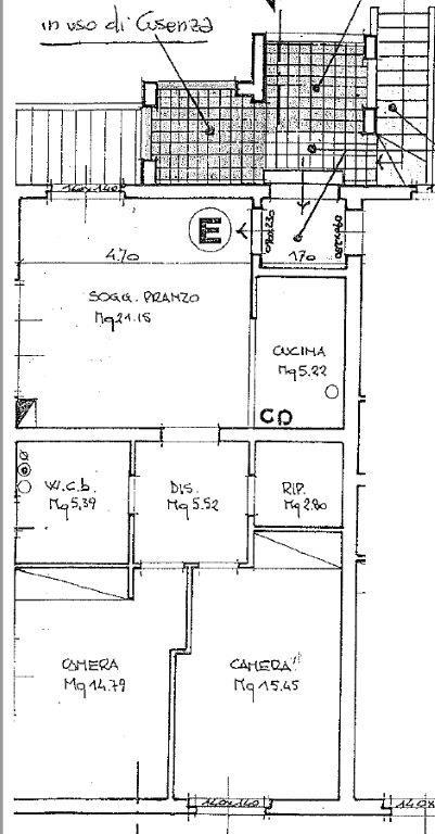 Planimetria 1/1 per rif. B/0115