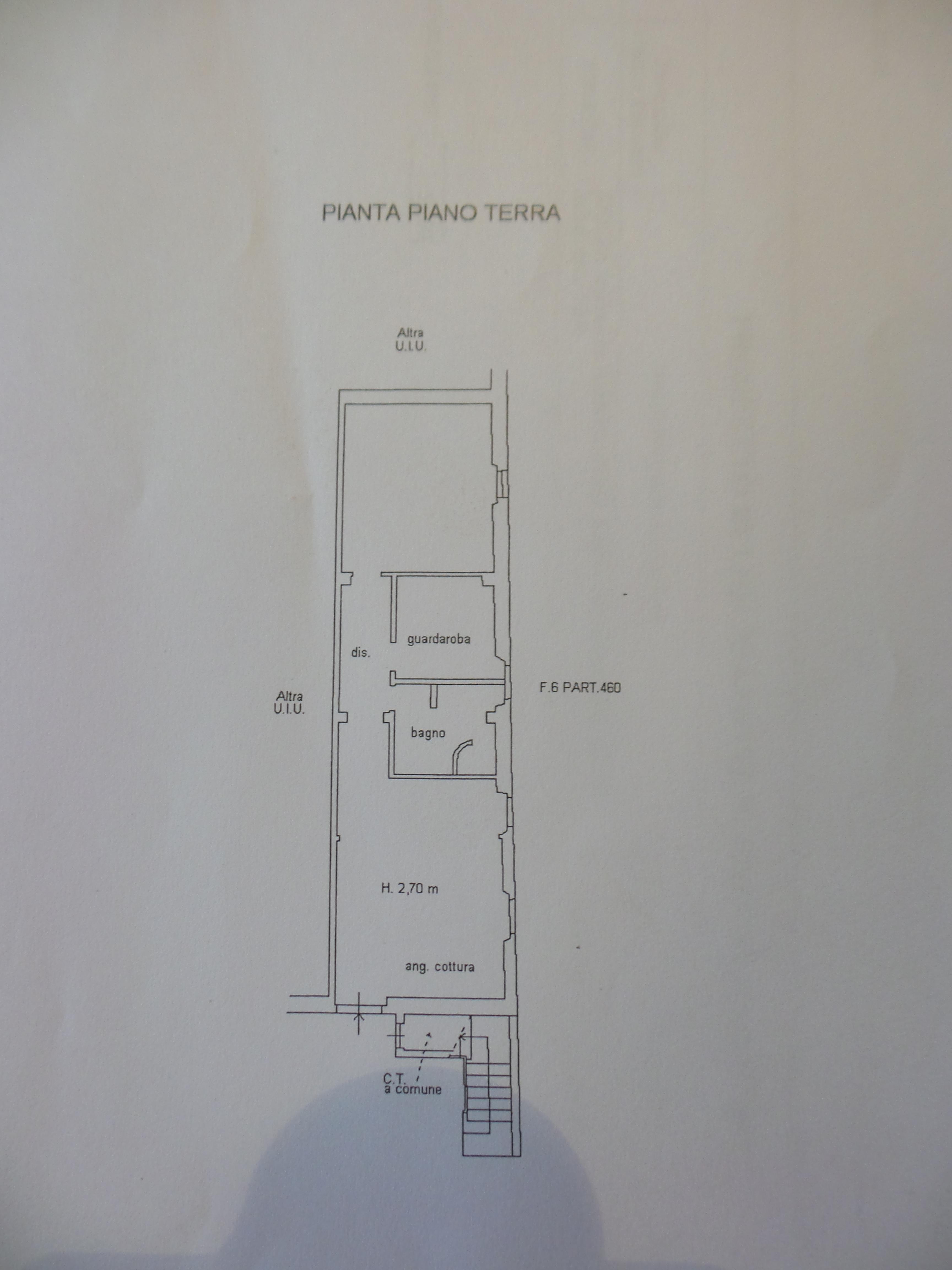 Planimetria 1/1 per rif. P/0079