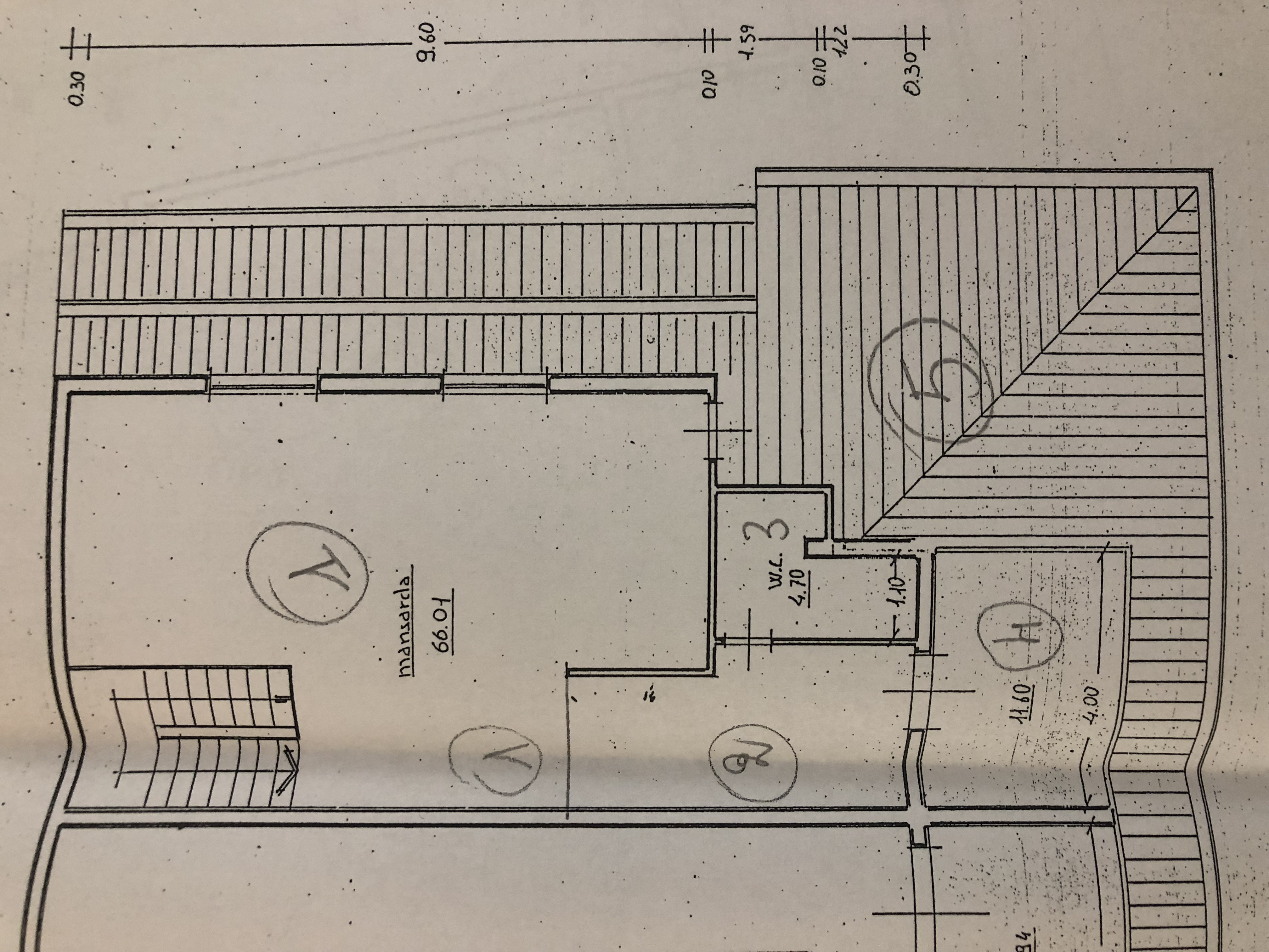 Planimetria 2/4 per rif. F/0162