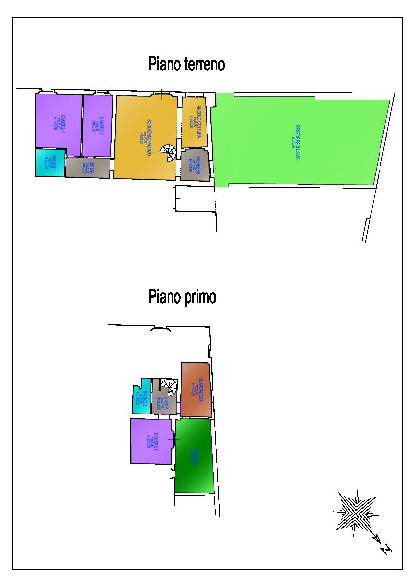 Planimetria 1/1 per rif. F/0174