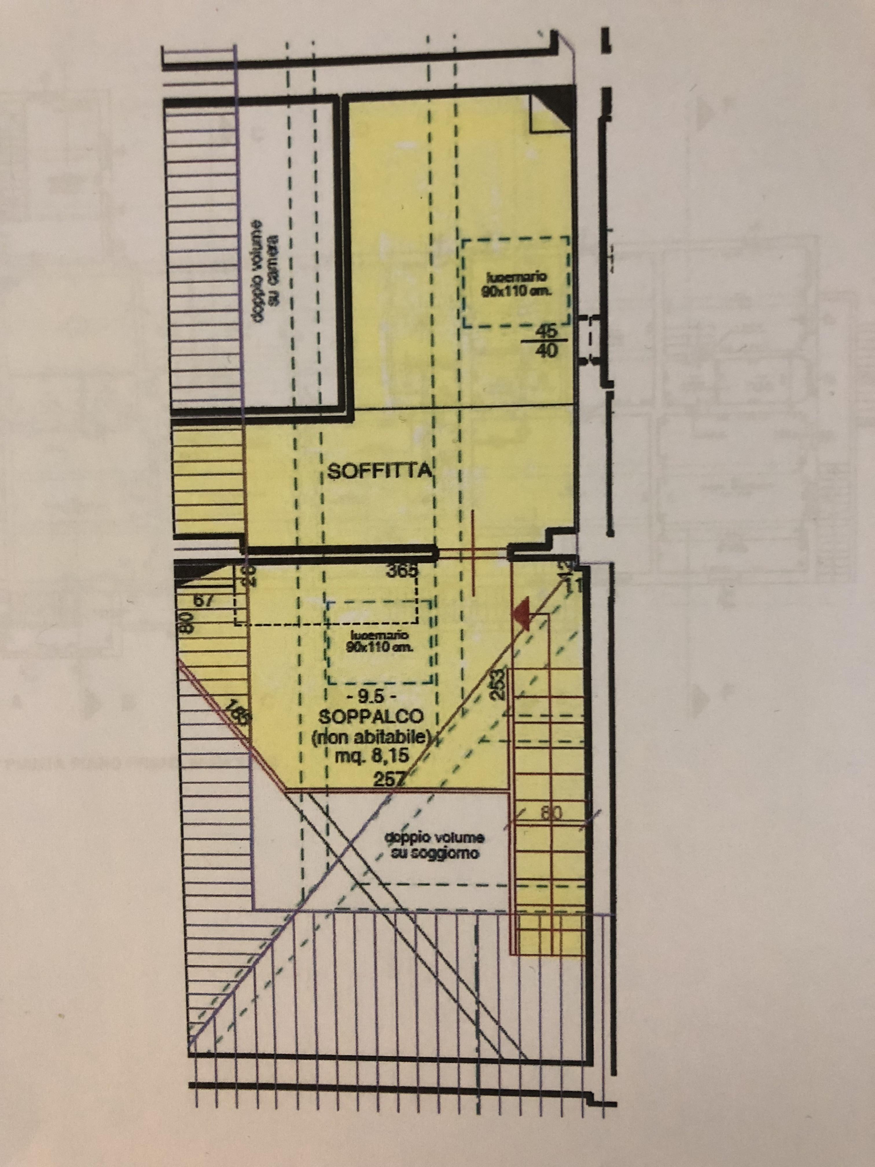 Planimetria 2/2 per rif. F/0185