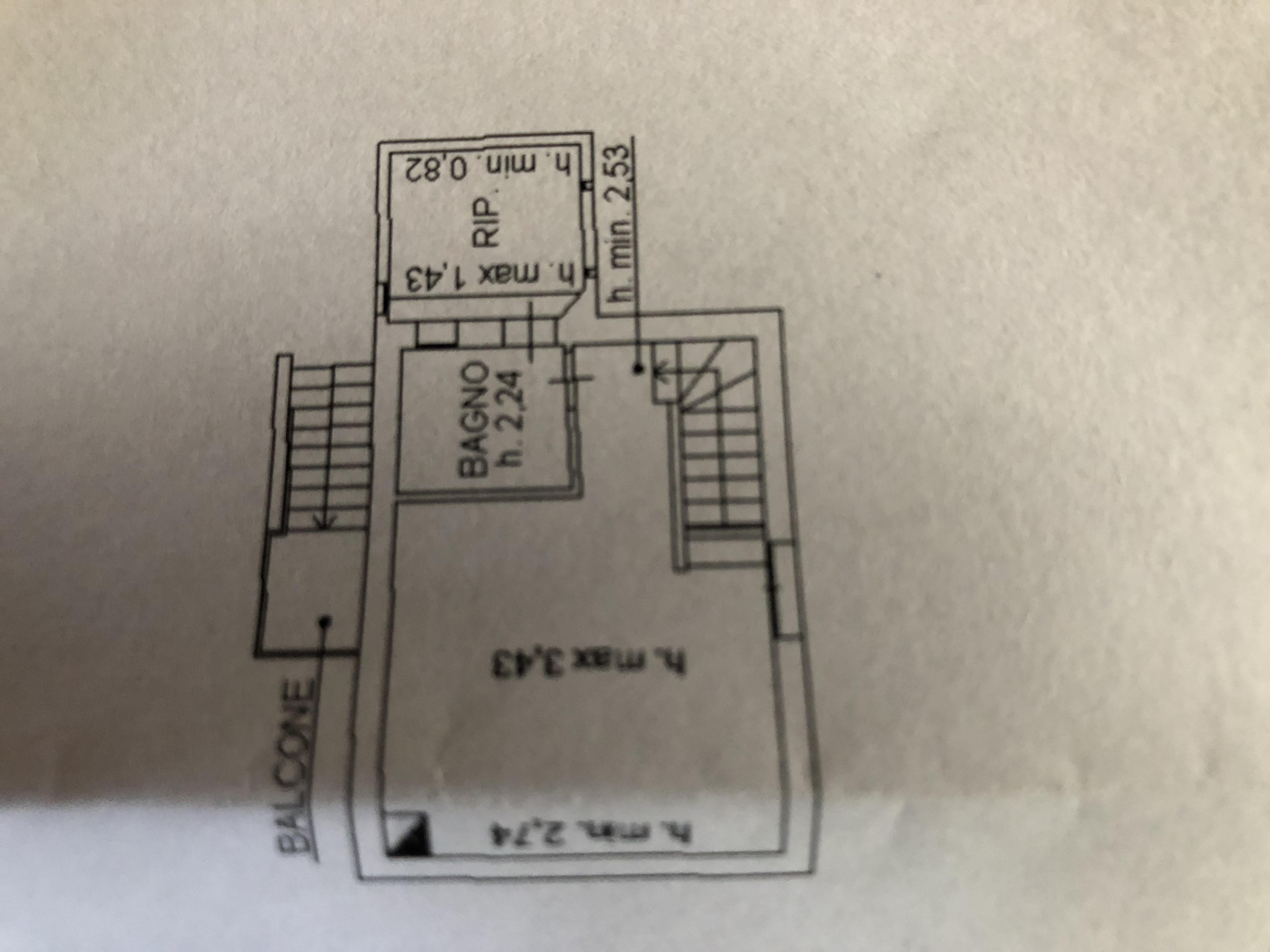 Planimetria 2/2 per rif. F/0187