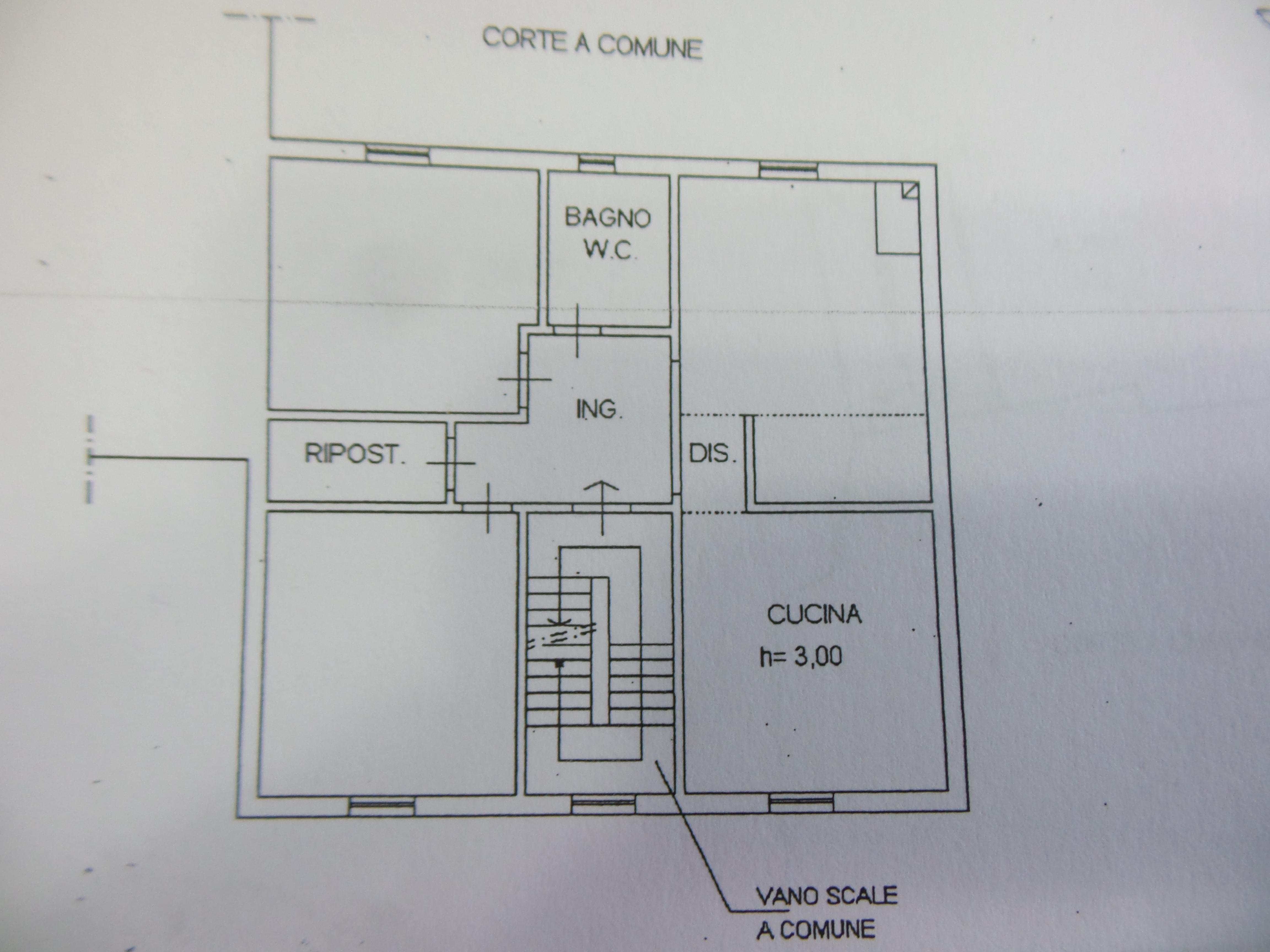 Planimetria 1/1 per rif. P/0085