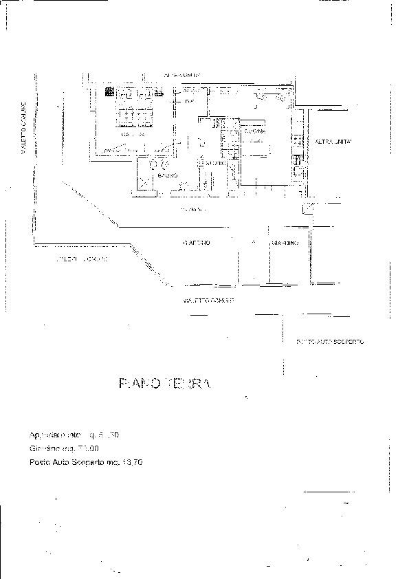 Planimetria 1/1 per rif. B/0133