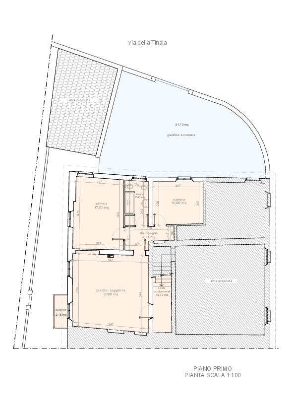 Planimetria 1/1 per rif. F/0215