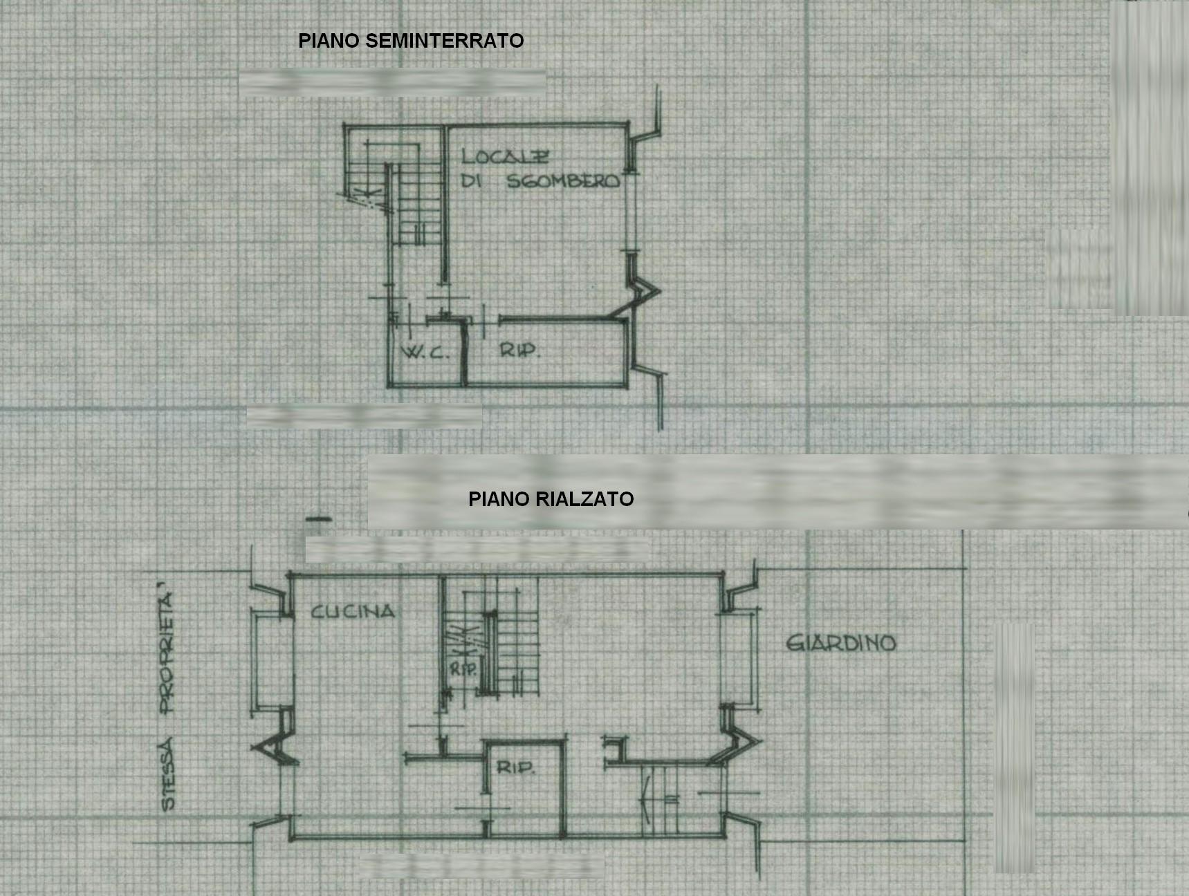 Planimetria 1/2 per rif. 7422