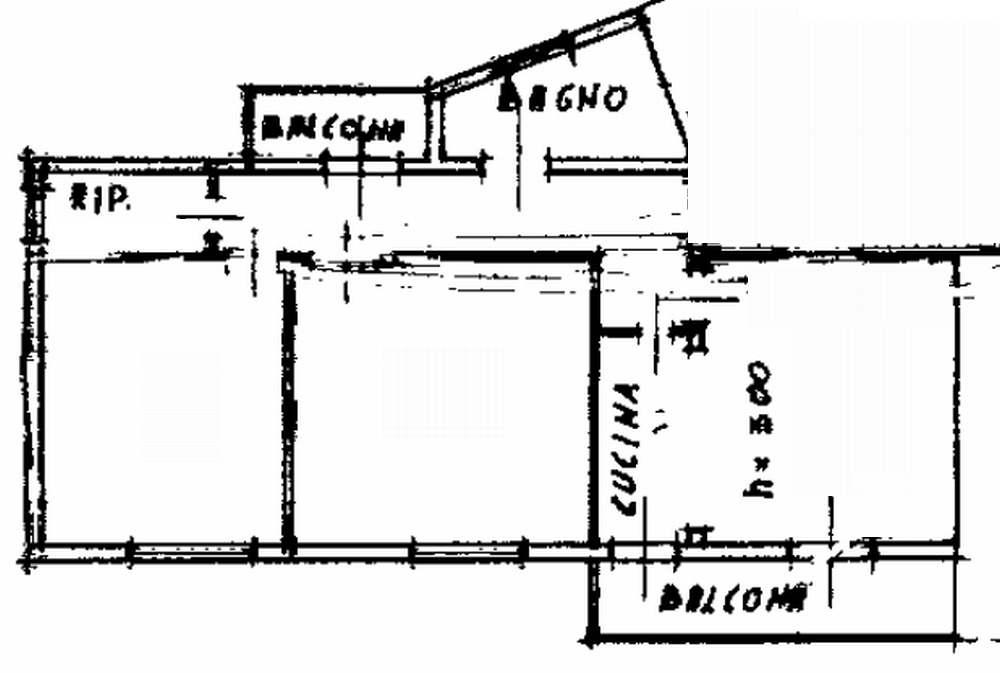 Planimetria 1/2 per rif. 8251-02