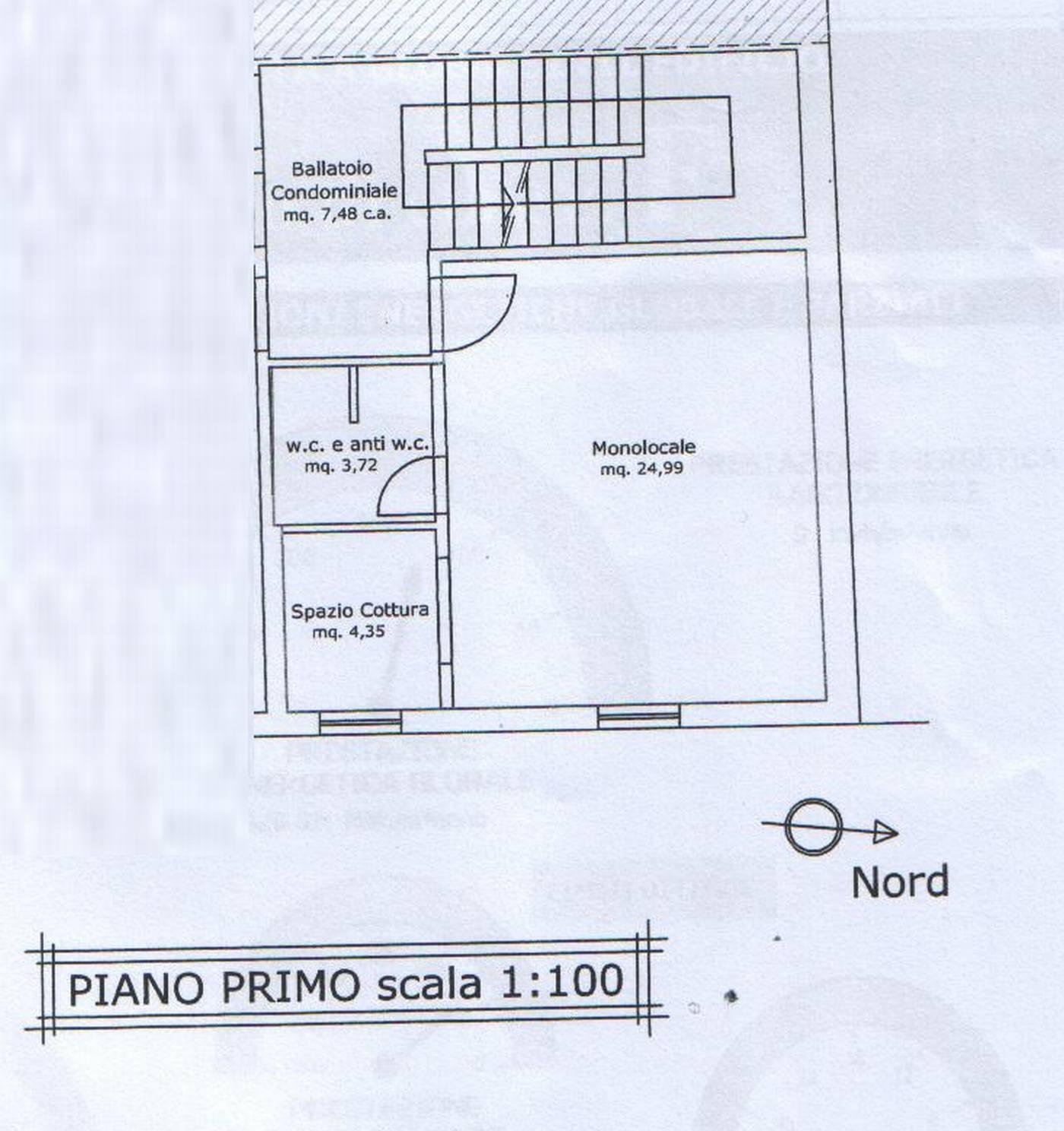 Planimetria 1/2 per rif. 8105-02