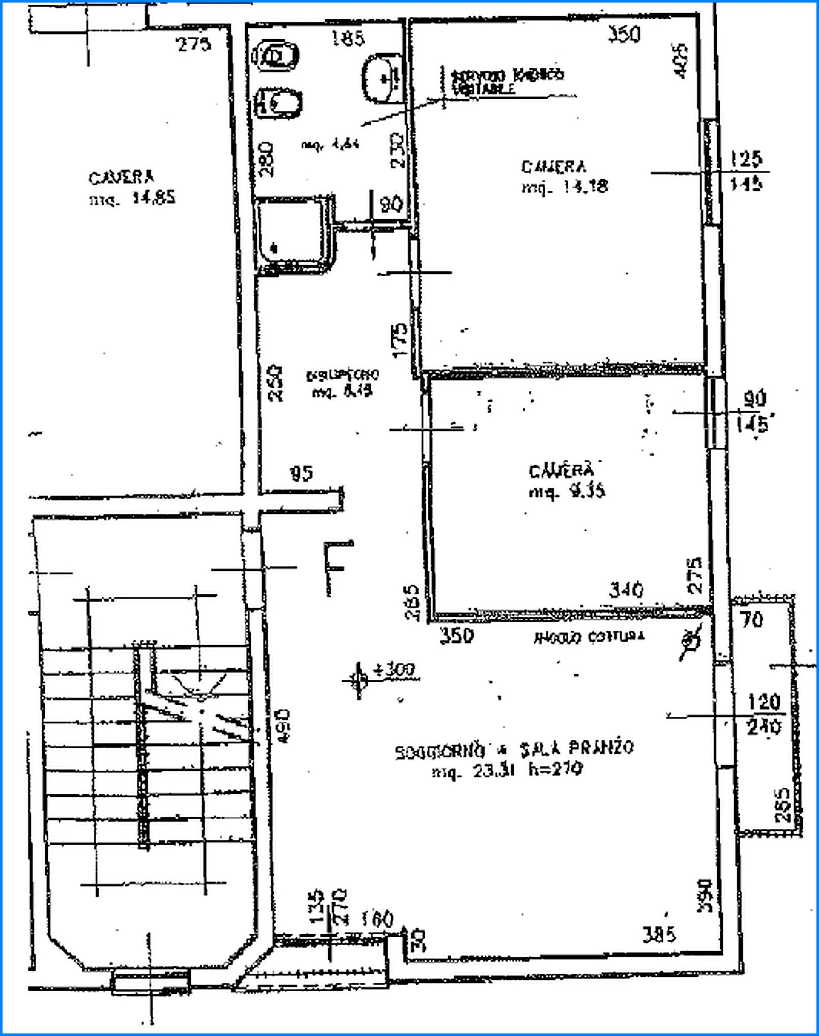 Planimetria 1/1 per rif. 8574-02