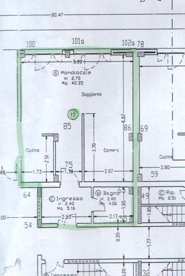 Planimetria 1/1 per rif. 3611