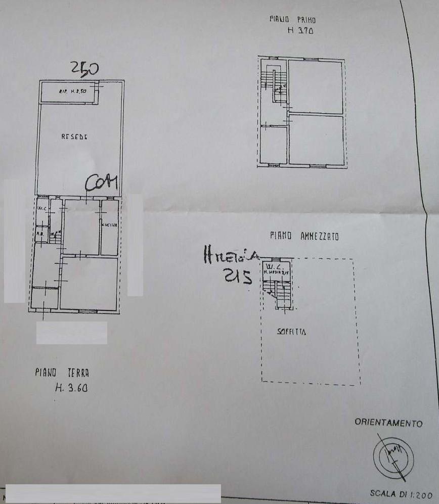 Planimetria 1/2 per rif. 7729