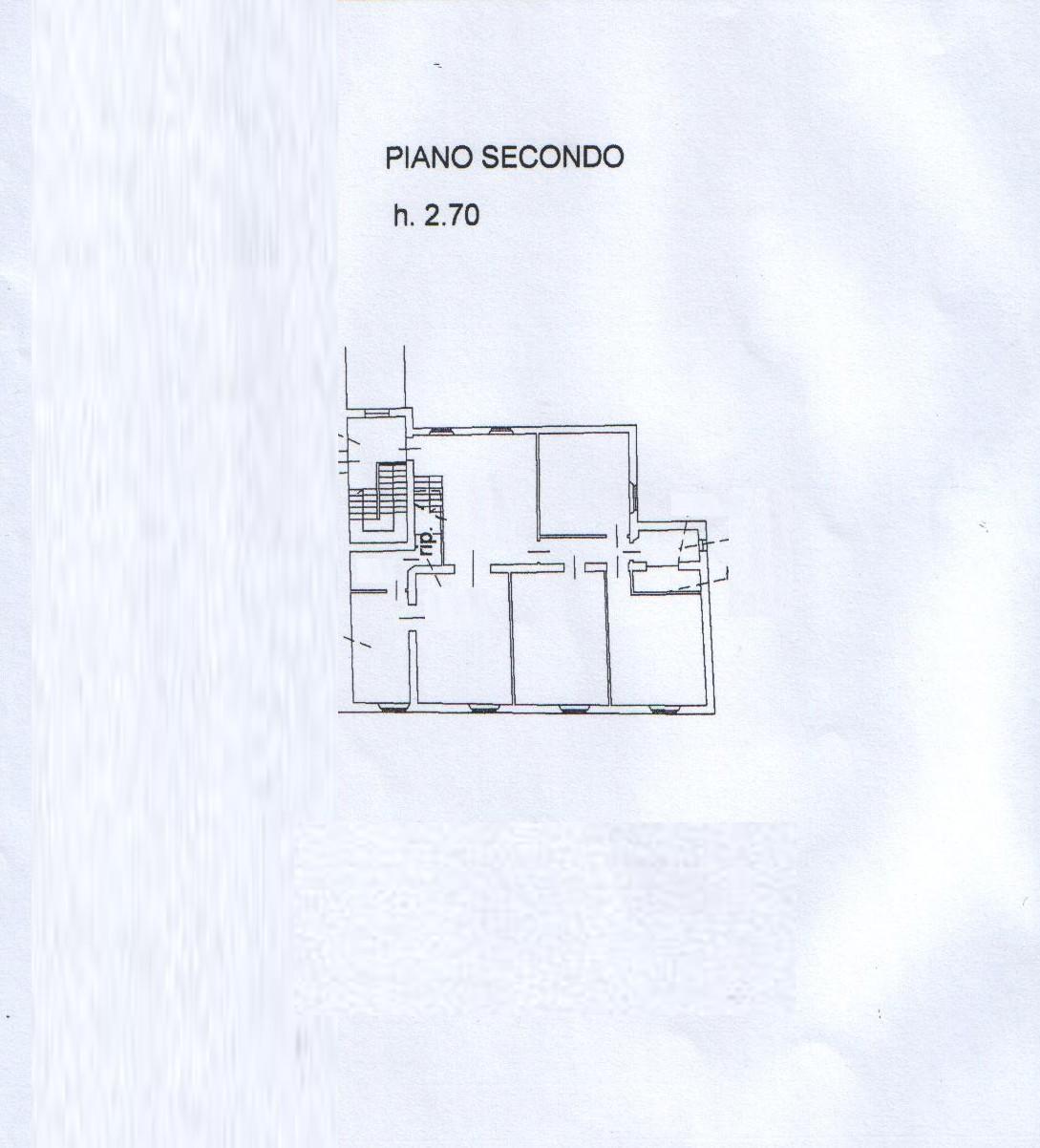 Planimetria 2/3 per rif. 7768