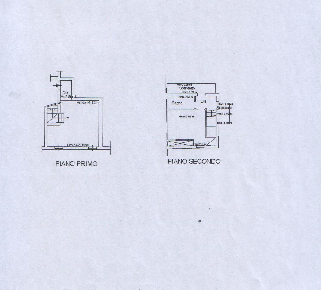 Planimetria 1/2 per rif. 7812