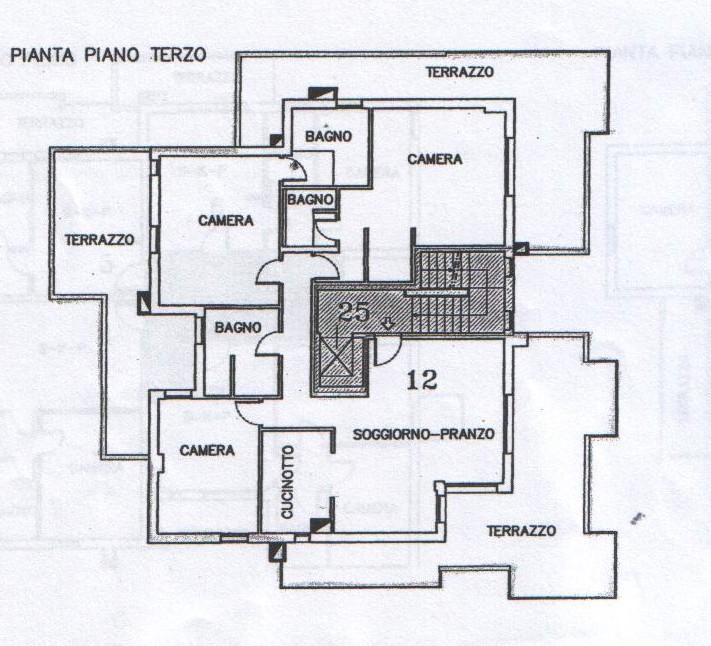 Planimetria 1/2 per rif. 7219