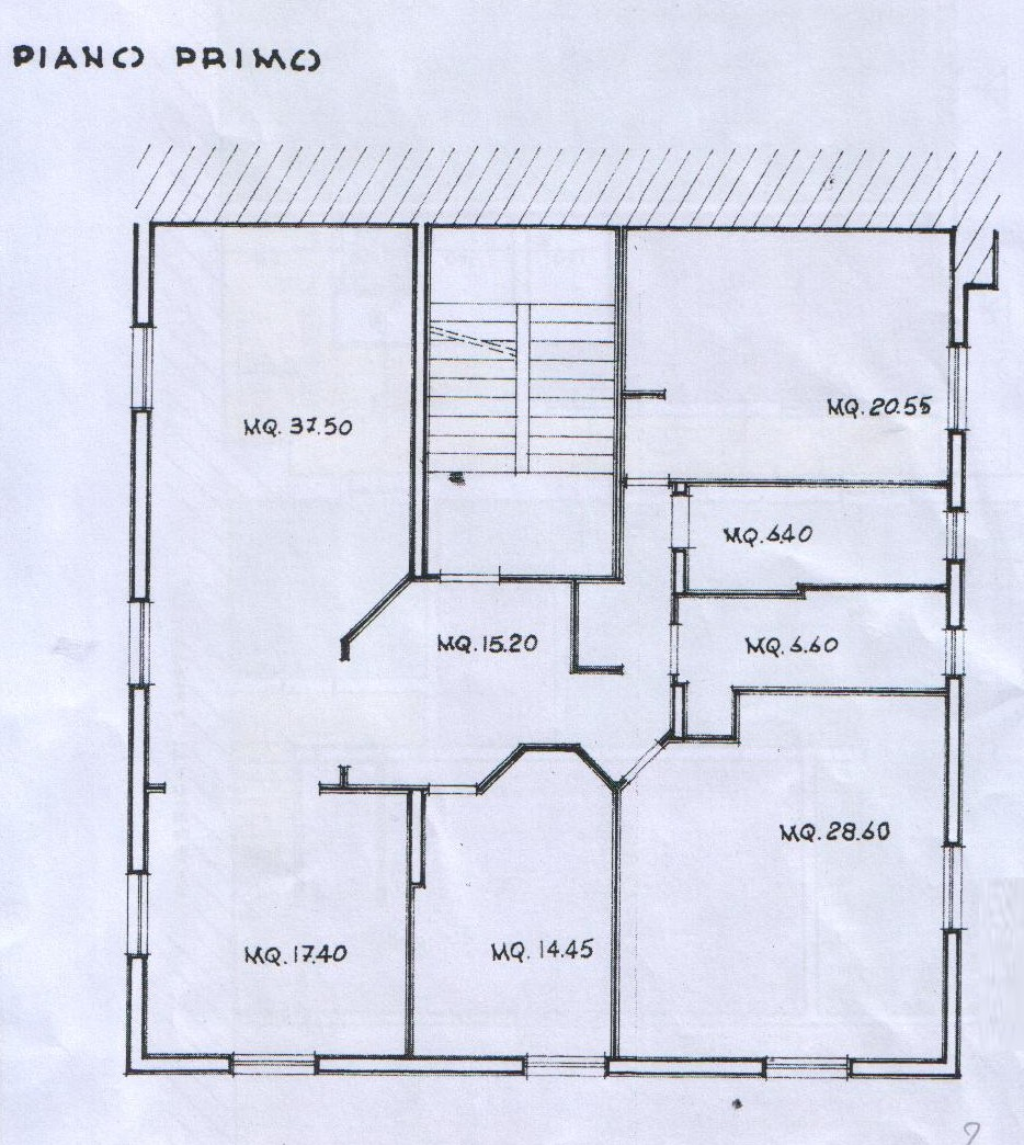 Planimetria 1/1 per rif. 7829