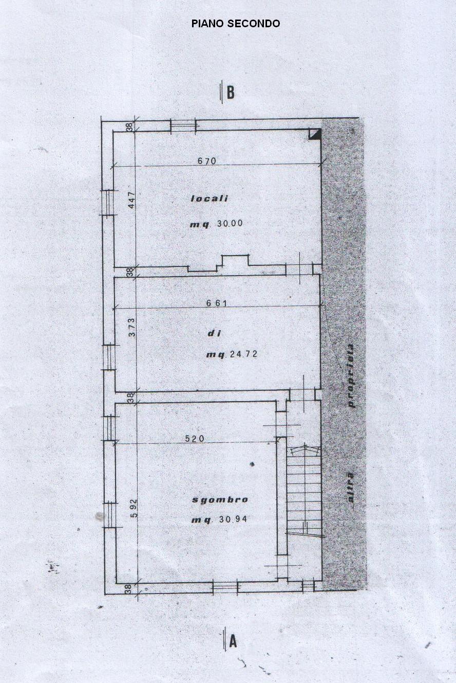 Planimetria 3/5 per rif. 7897