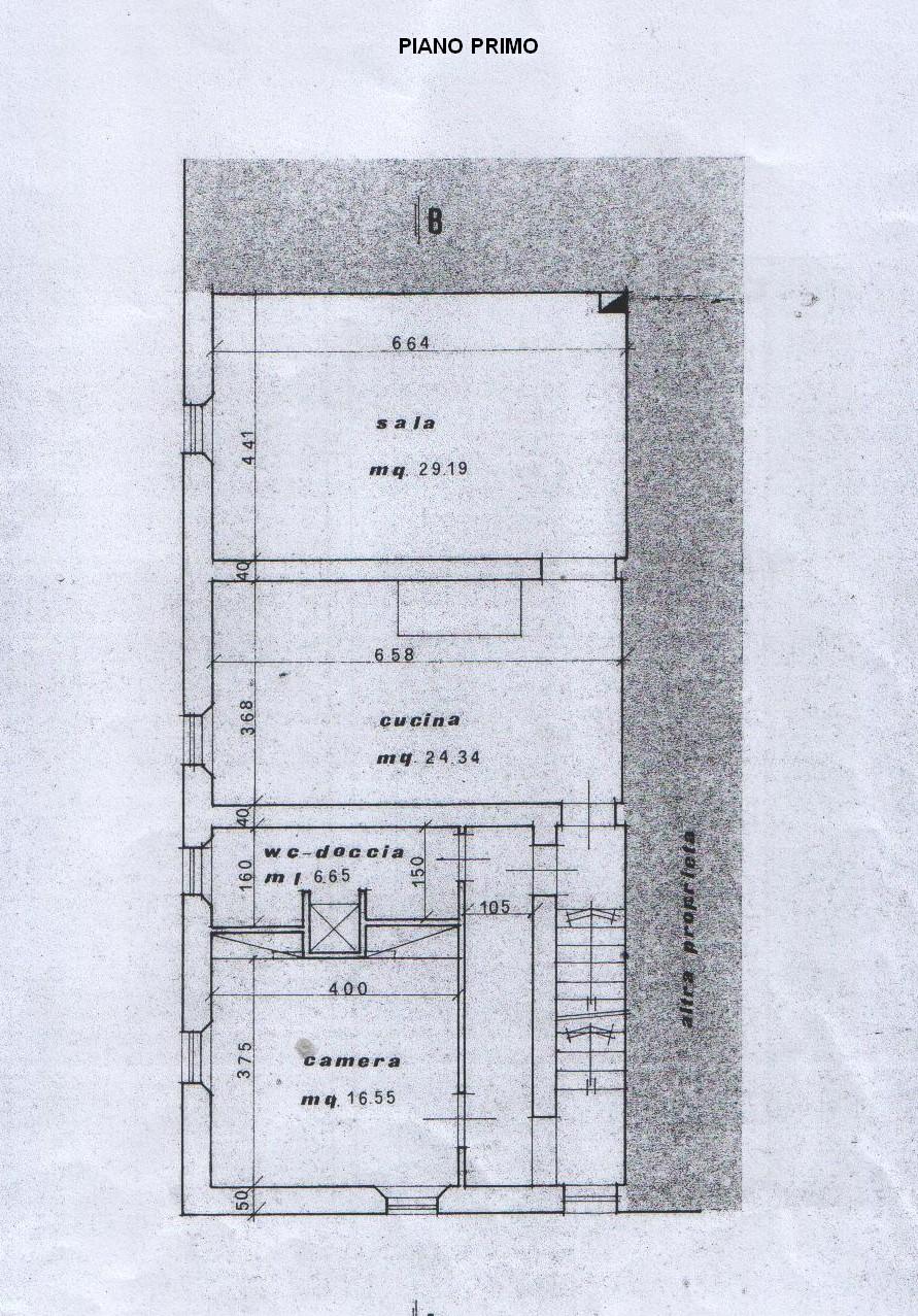 Planimetria 2/5 per rif. 7897