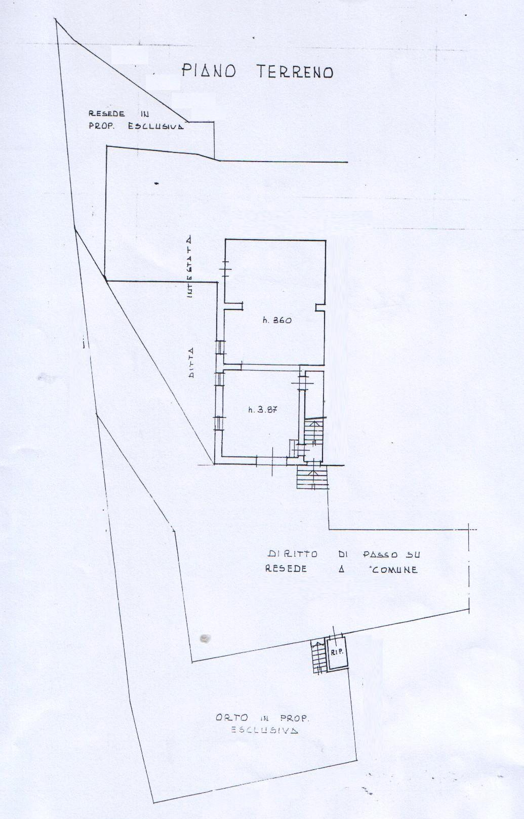 Planimetria 5/5 per rif. 7897