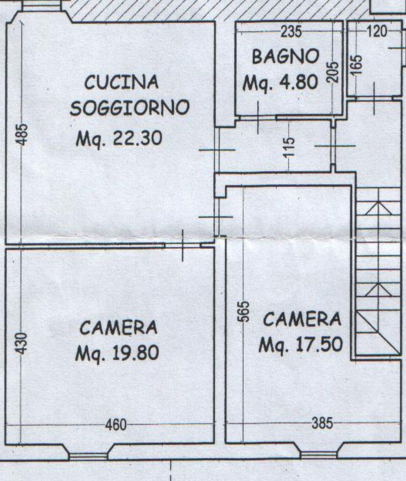 Planimetria 1/2 per rif. 8031-02