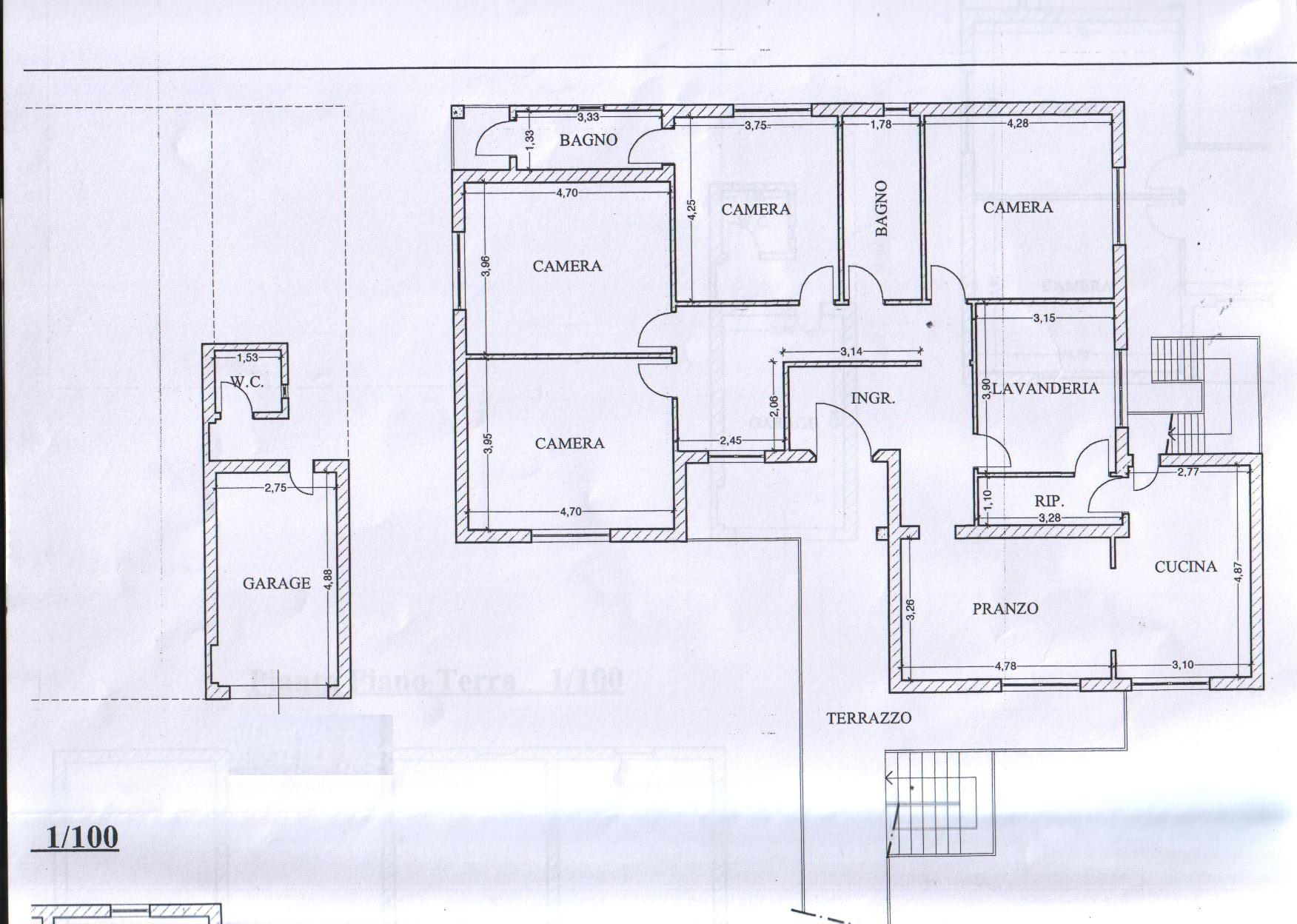 Planimetria 1/1 per rif. 8038