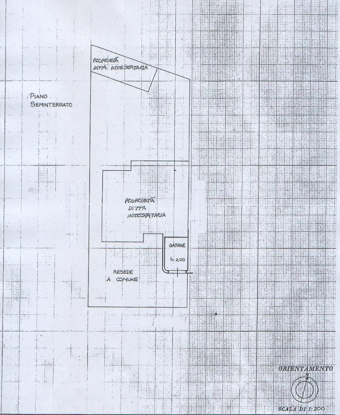 Planimetria 2/2 per rif. 8086