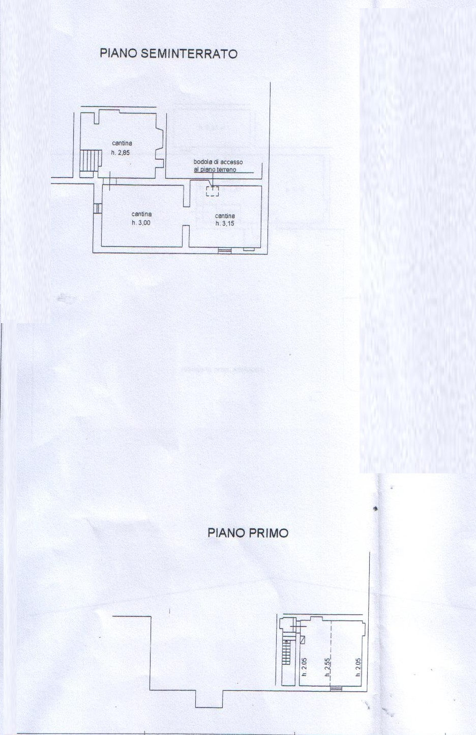 Planimetria 3/3 per rif. 8127