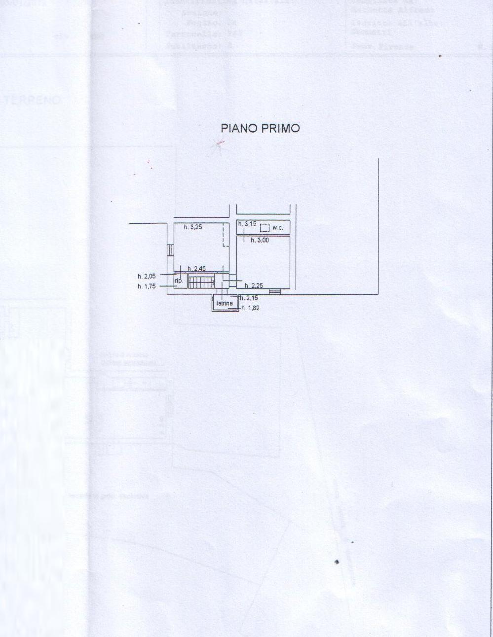 Planimetria 1/3 per rif. 8127
