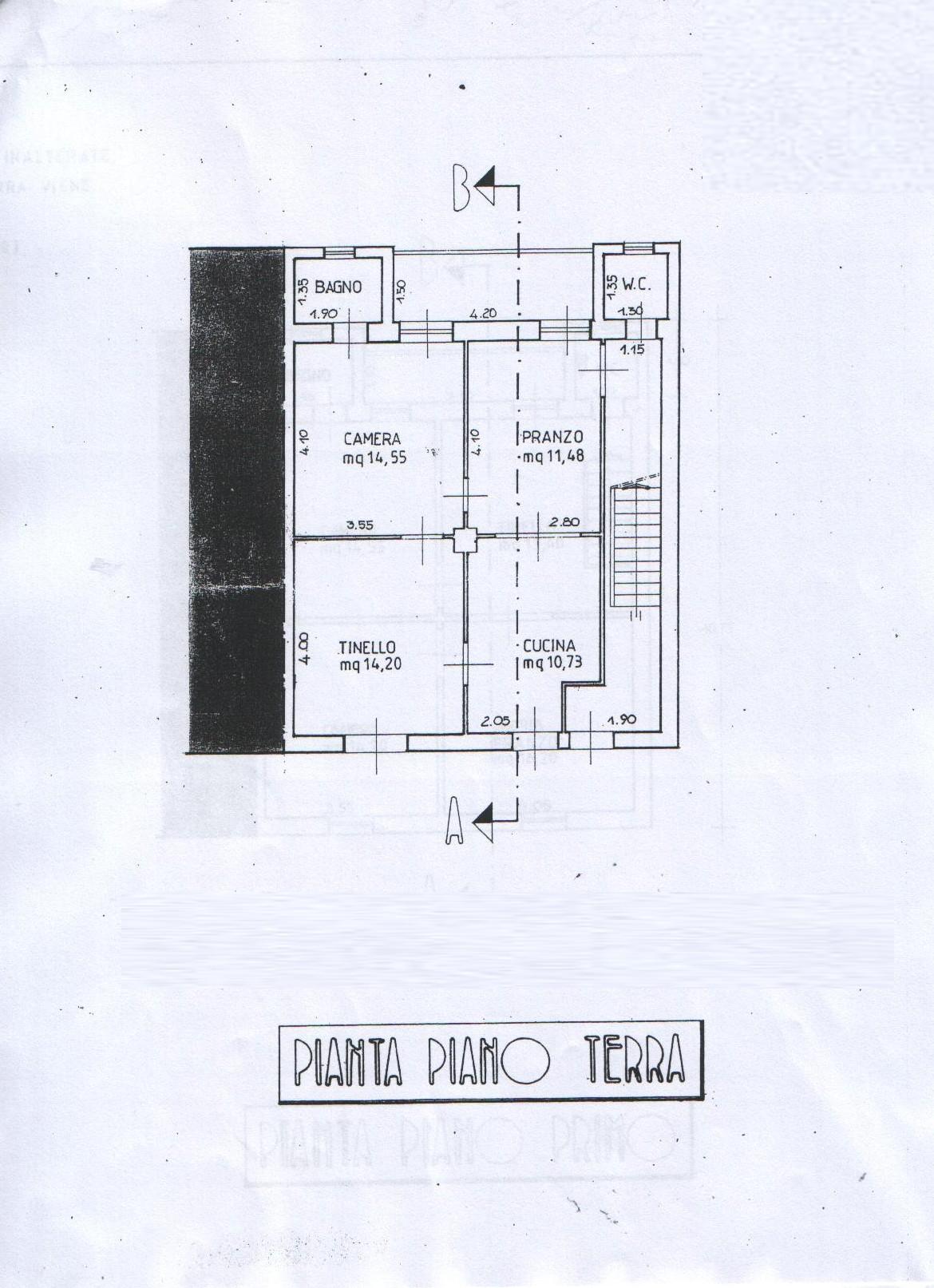 Planimetria 3/3 per rif. 8128